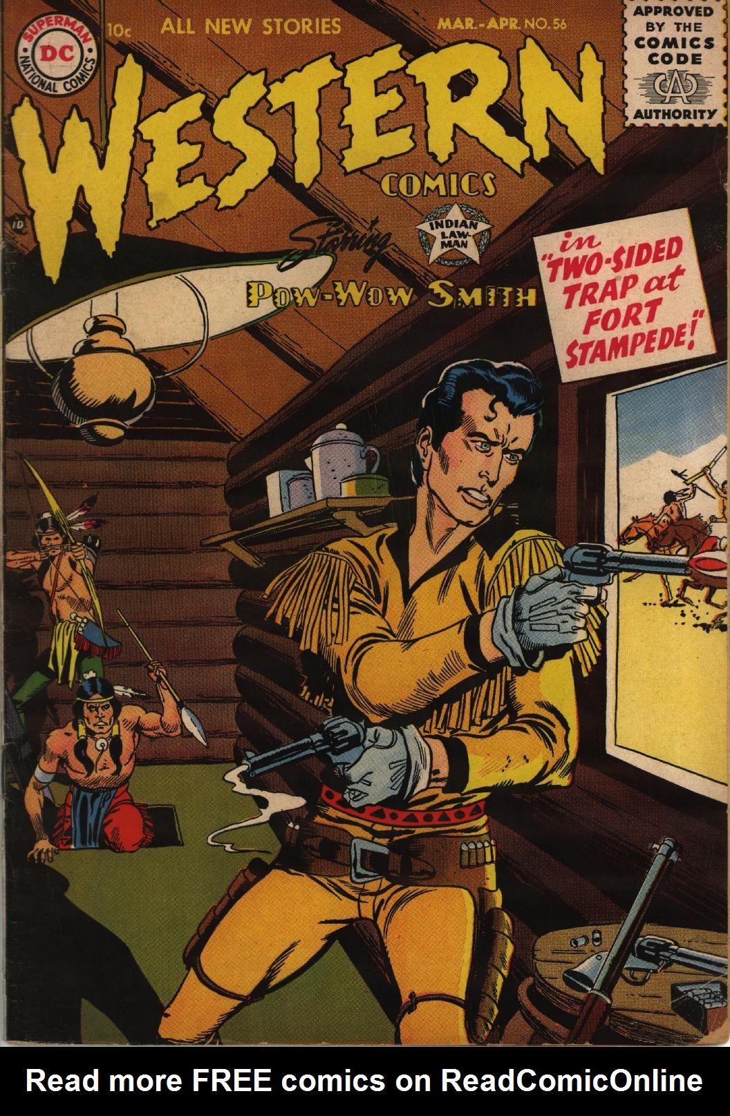 Western Comics 56 Page 1