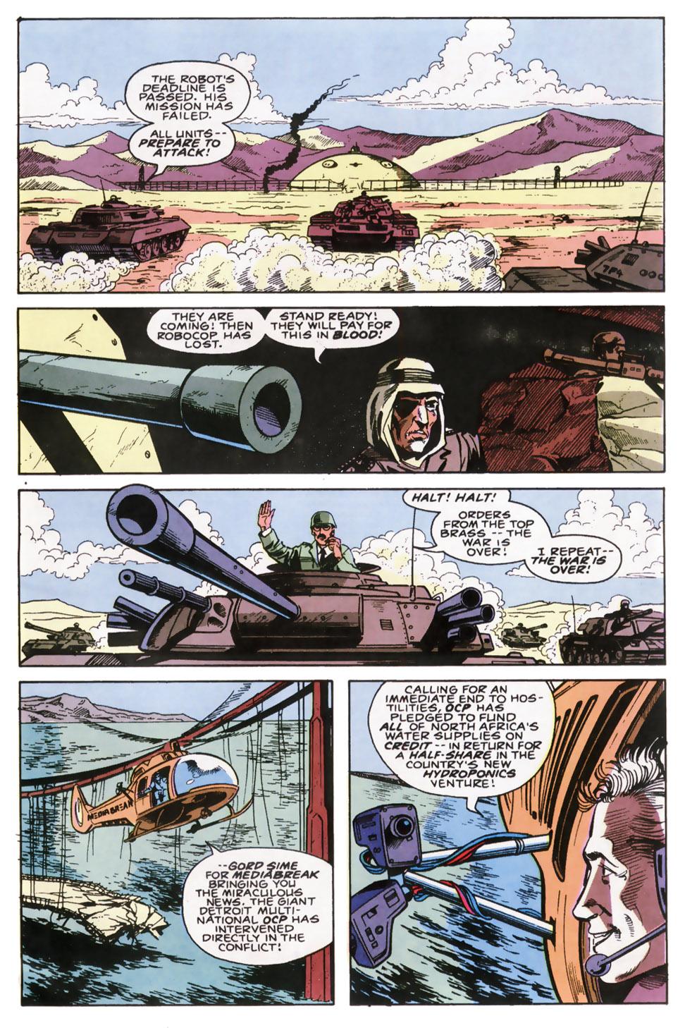 Read online Robocop (1990) comic -  Issue #6 - 22