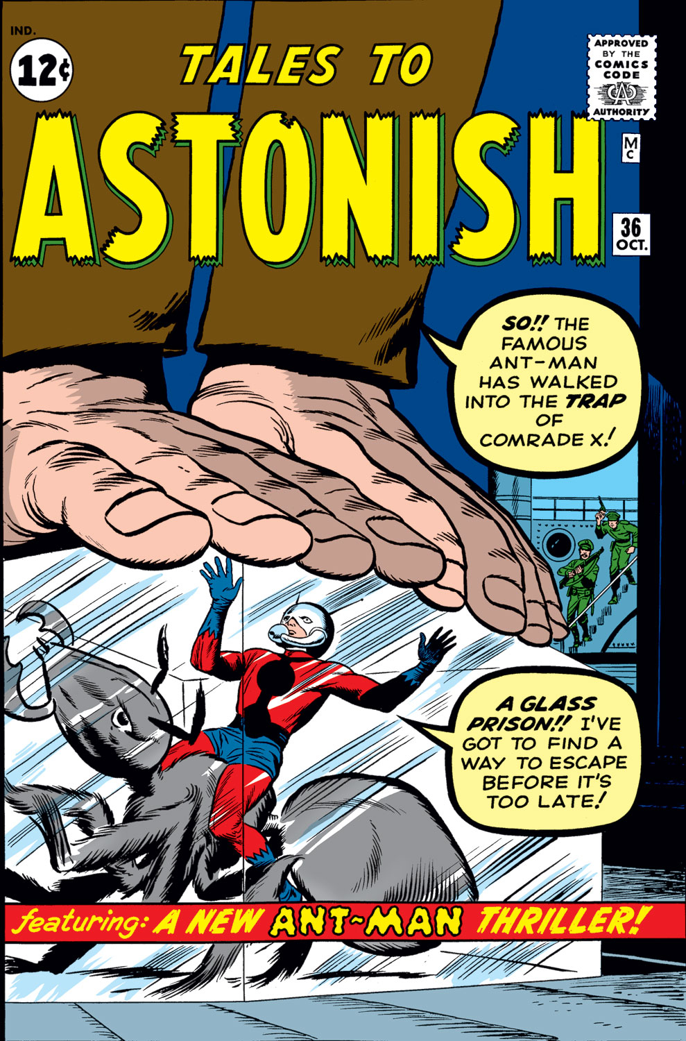 Tales to Astonish (1959) issue 36 - Page 1