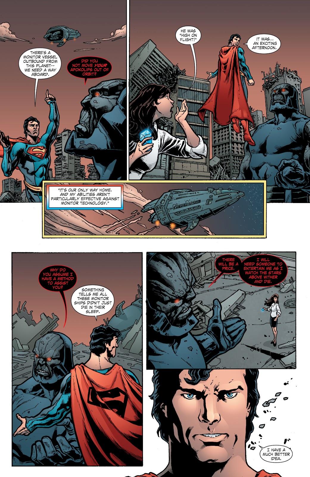 Read online Smallville Season 11 [II] comic -  Issue # TPB 8 - 129