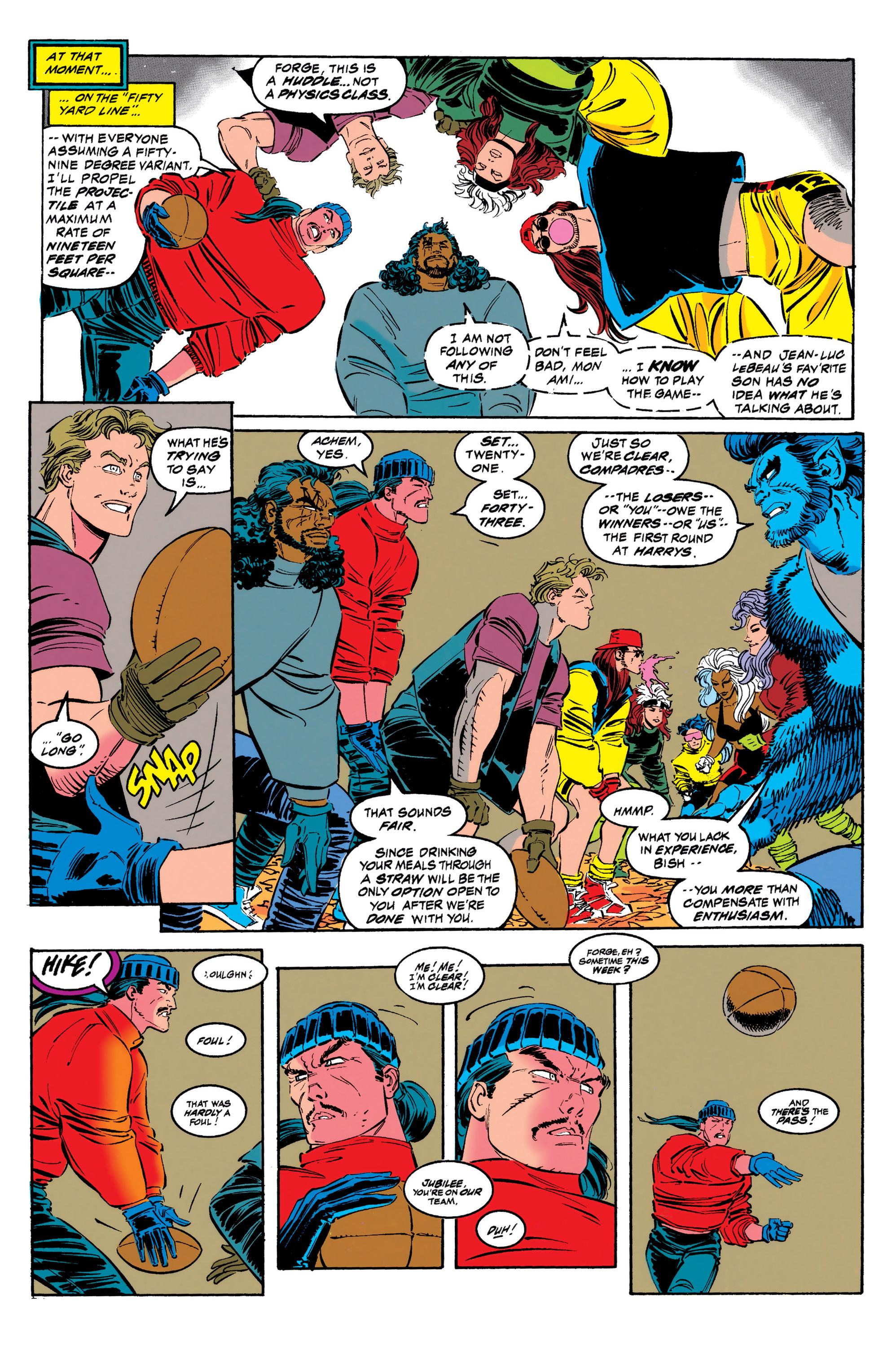 Read online Uncanny X-Men (1963) comic -  Issue #308 - 11