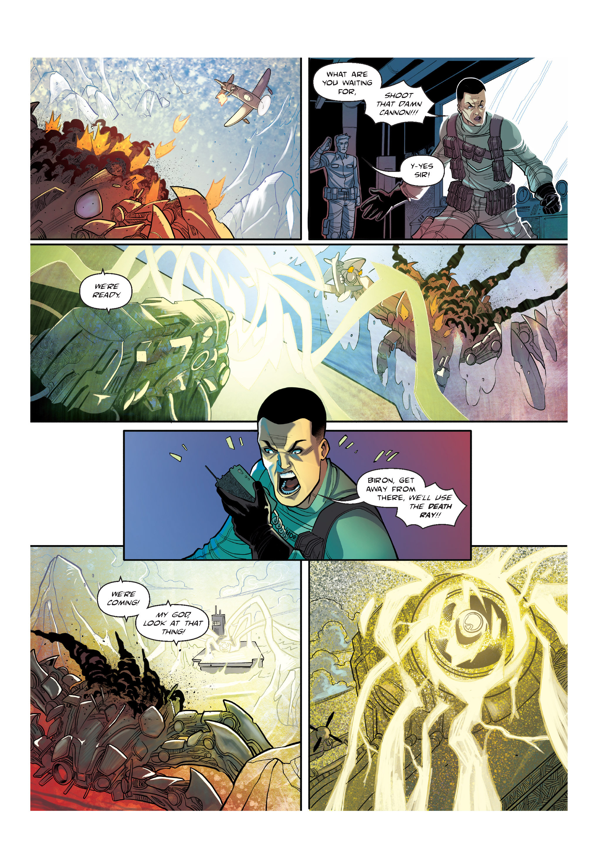 Read online The Shadow of a Terrible Thing comic -  Issue # TPB - 62