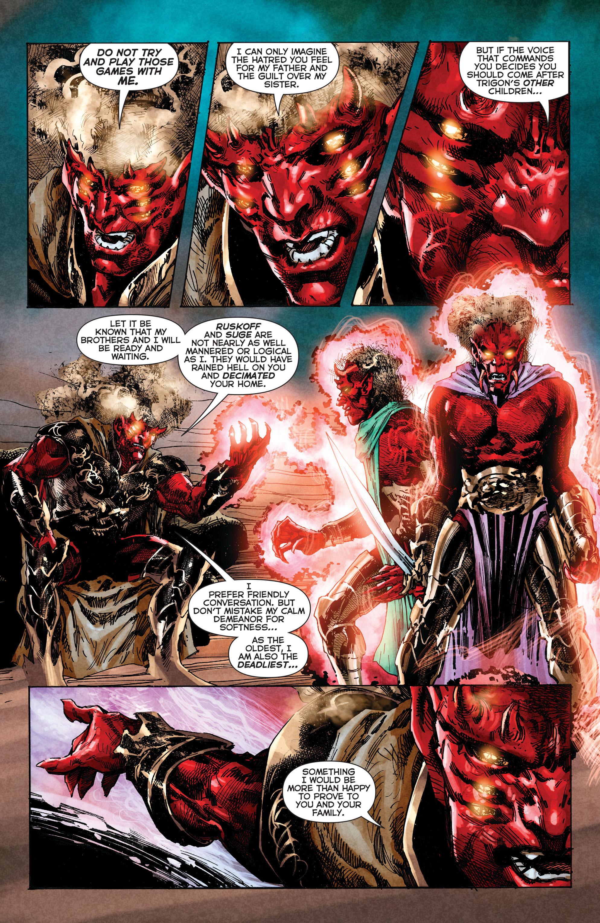 Read online Trinity of Sin: The Phantom Stranger comic -  Issue #2 - 11