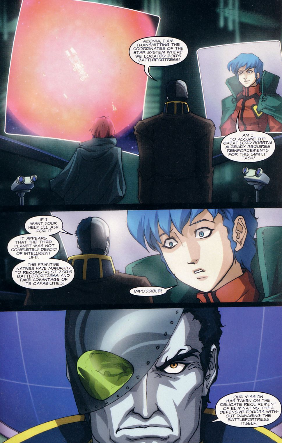 Read online Robotech: Love and War comic -  Issue #1 - 15
