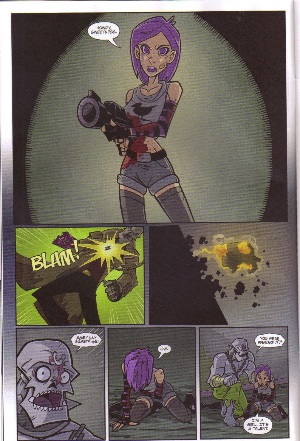 Read online Xombie Reanimated comic -  Issue #5 - 9
