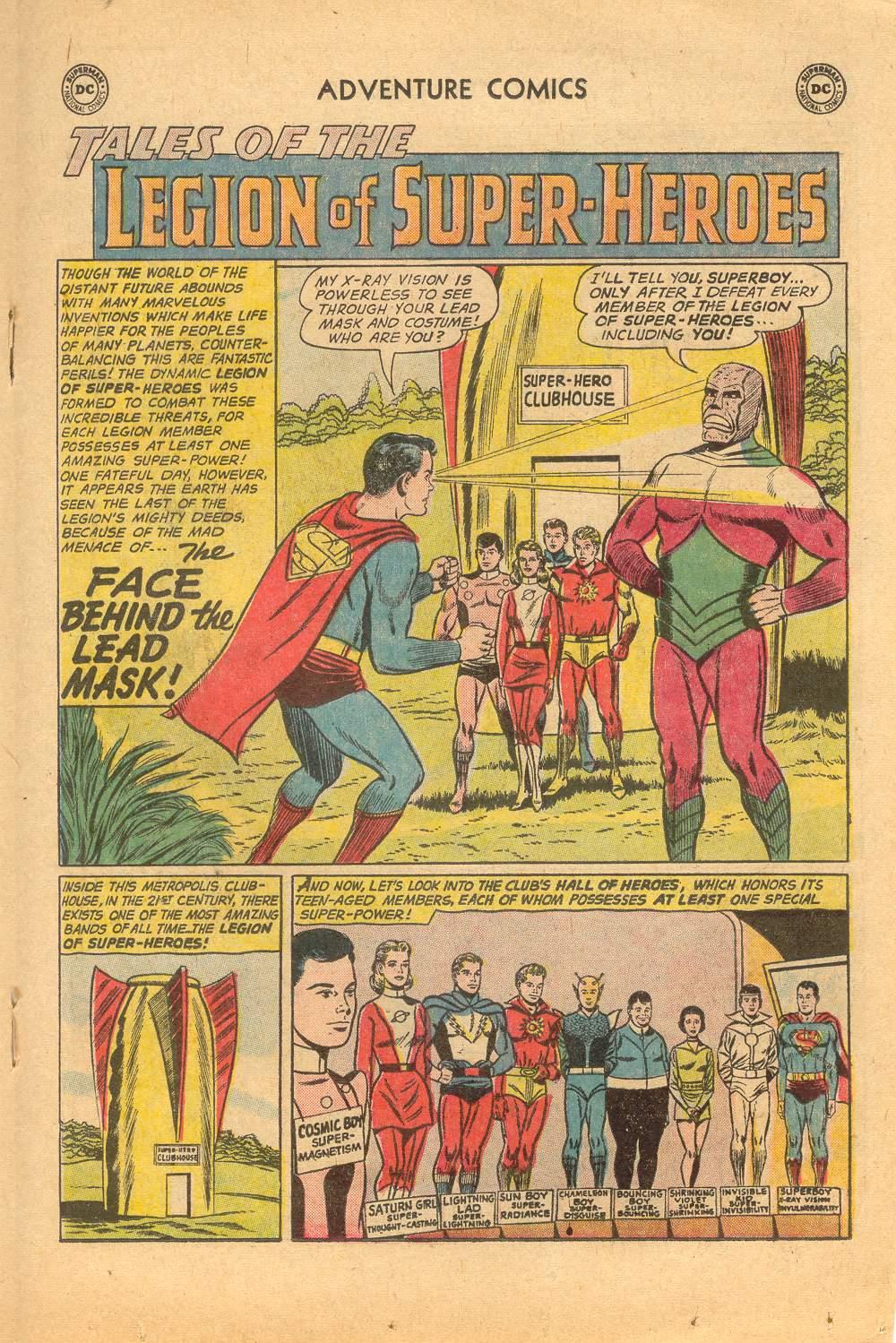 Read online Adventure Comics (1938) comic -  Issue #497 - 63