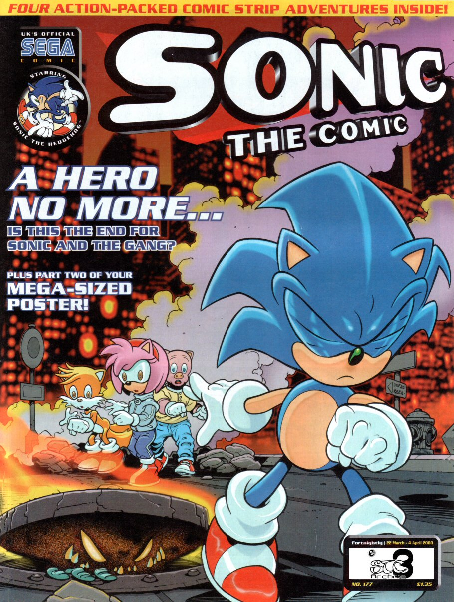 Read online Sonic the Comic comic -  Issue #177 - 1