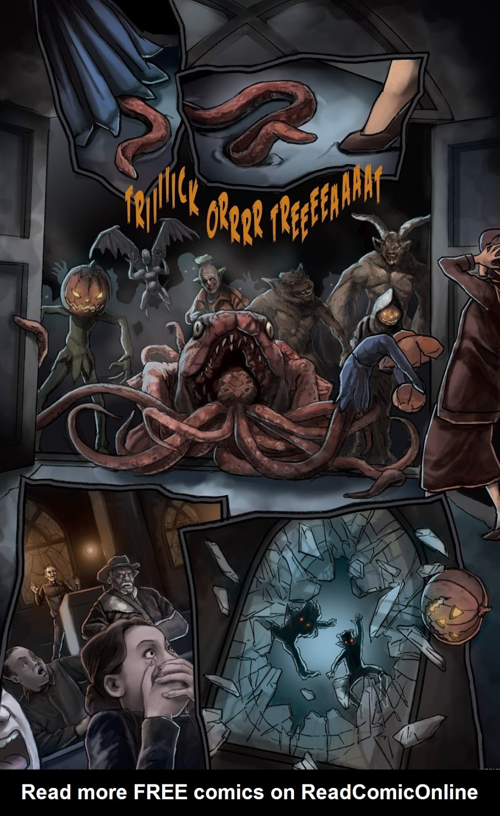 Read online Trick 'r Treat: Days of the Dead comic -  Issue # TPB - 126