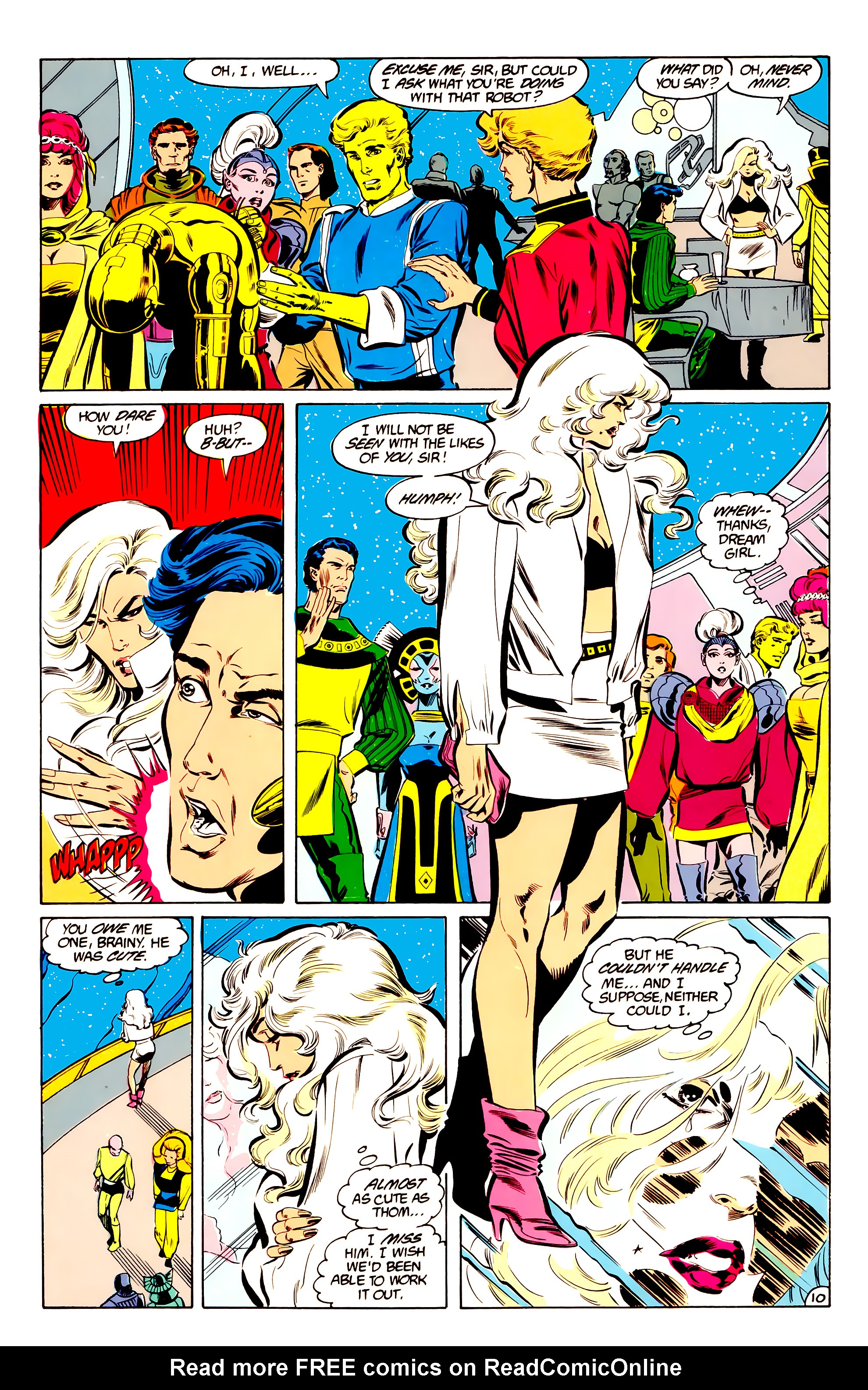 Legion of Super-Heroes (1984) 34 Page 10