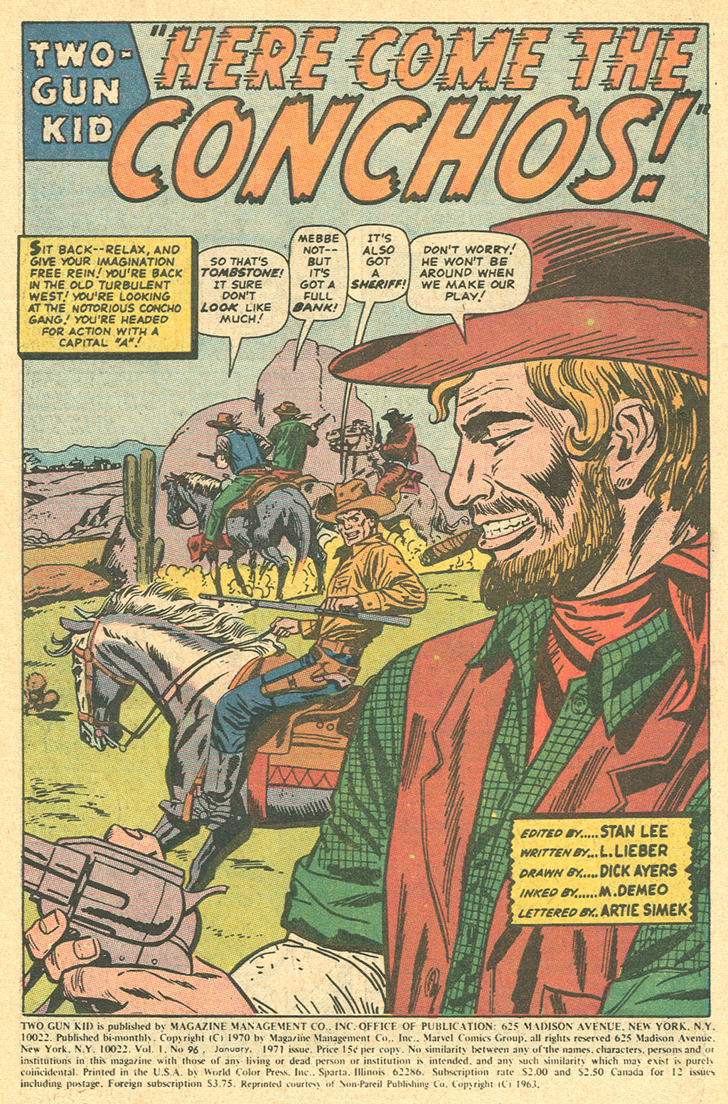 Read online Two-Gun Kid comic -  Issue #96 - 3