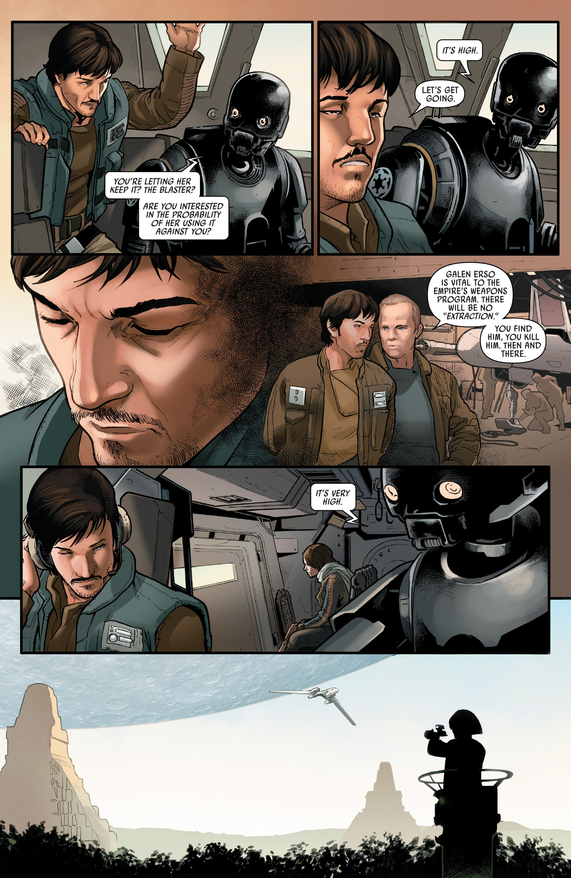 Read online Star Wars: Rogue One Adaptation comic -  Issue #1 - 29