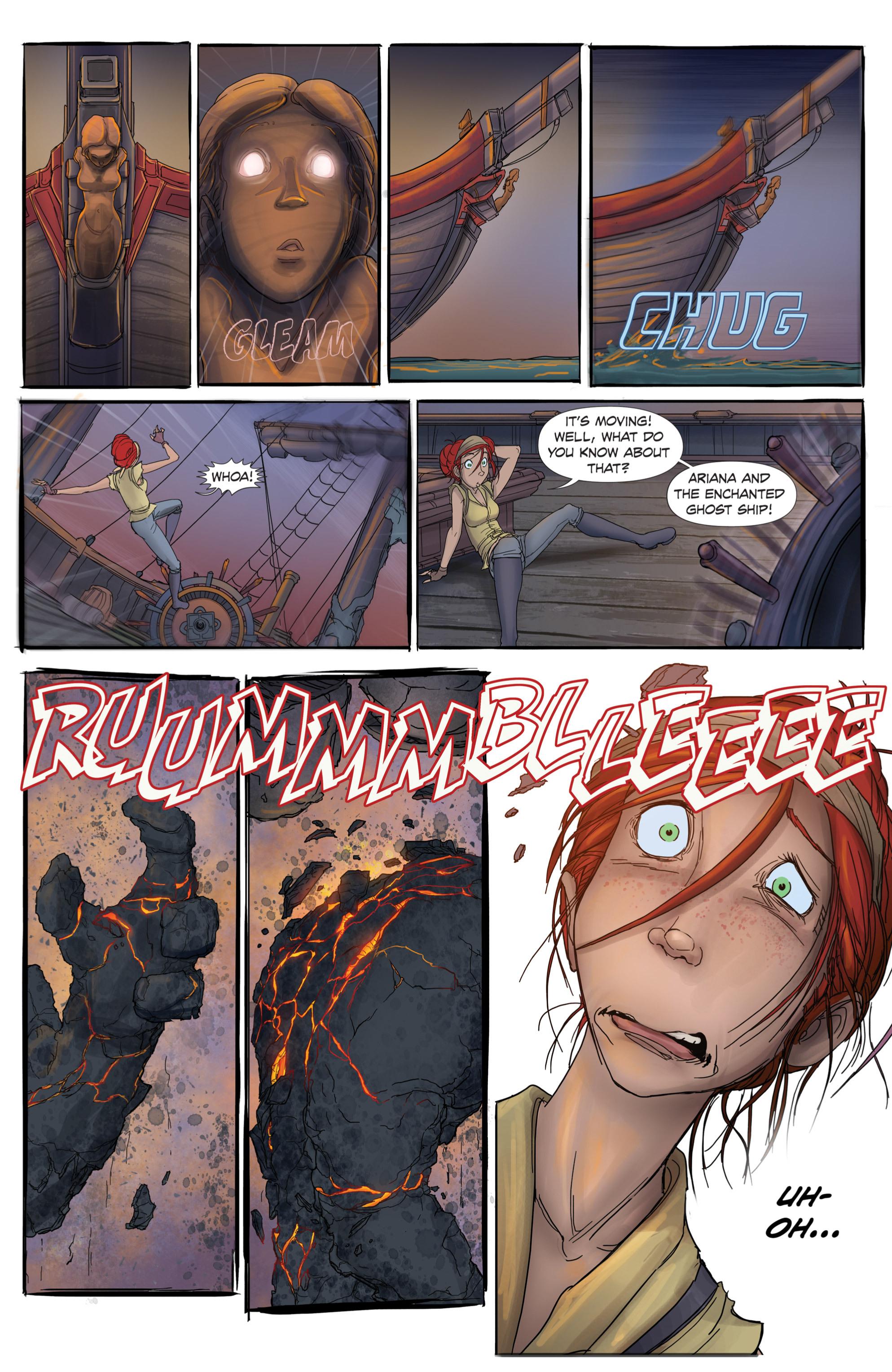 Read online Anne Bonnie comic -  Issue #1 - 12