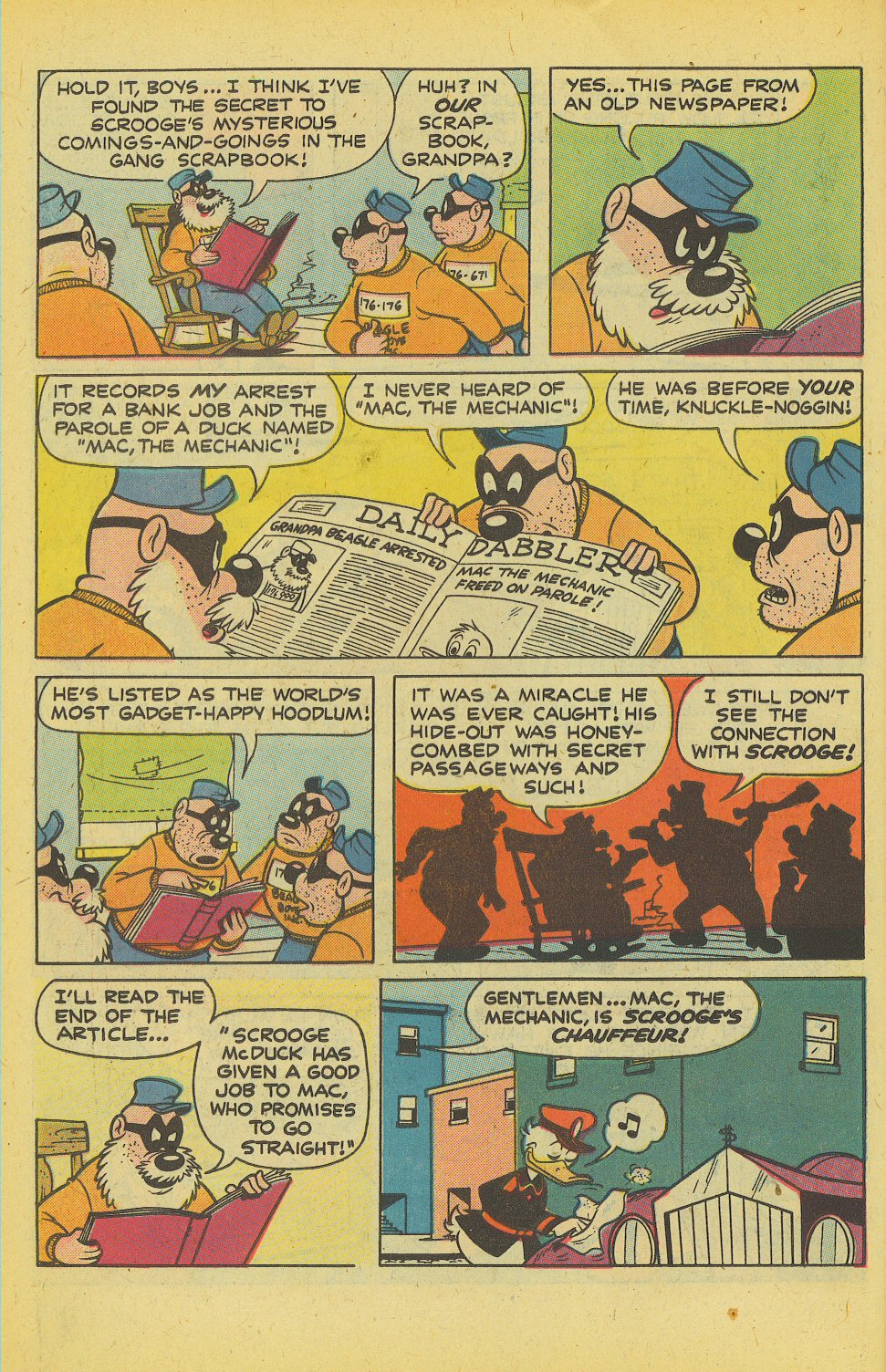 Read online Uncle Scrooge (1953) comic -  Issue #158 - 6