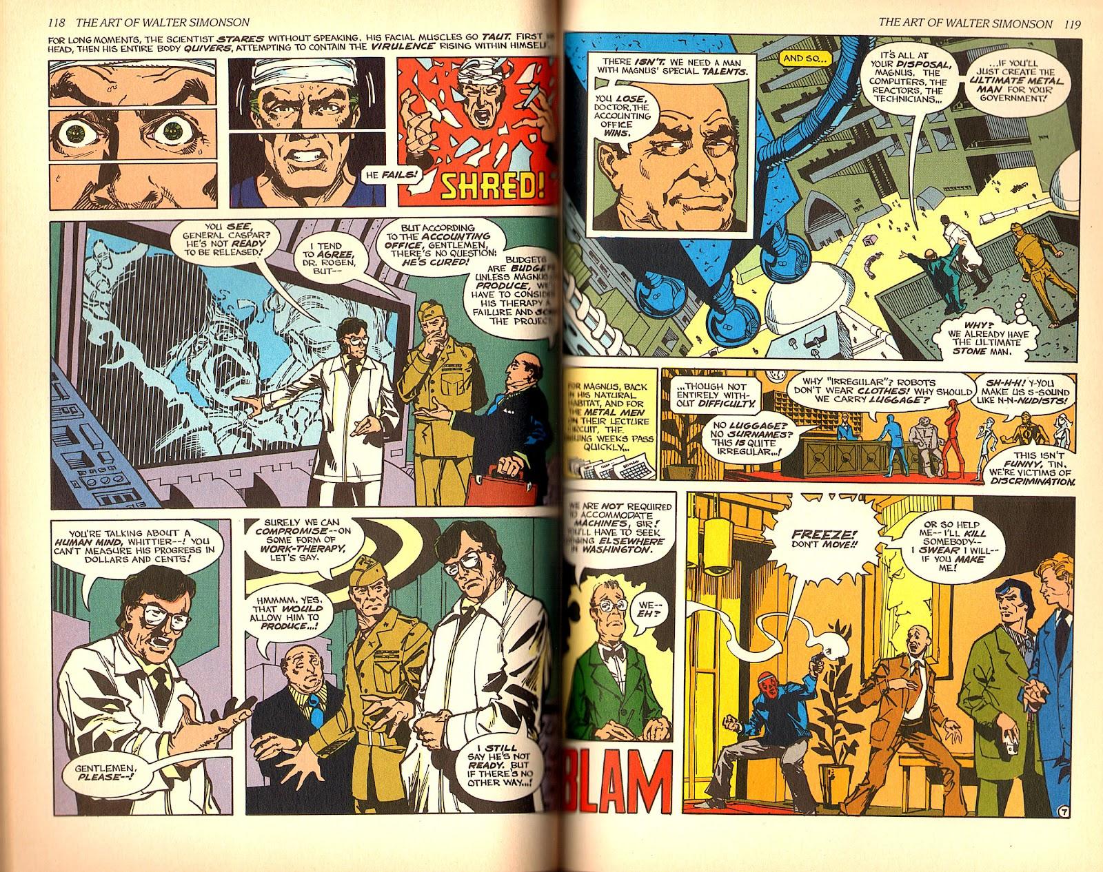 Read online The Art of Walter Simonson comic -  Issue # TPB - 61