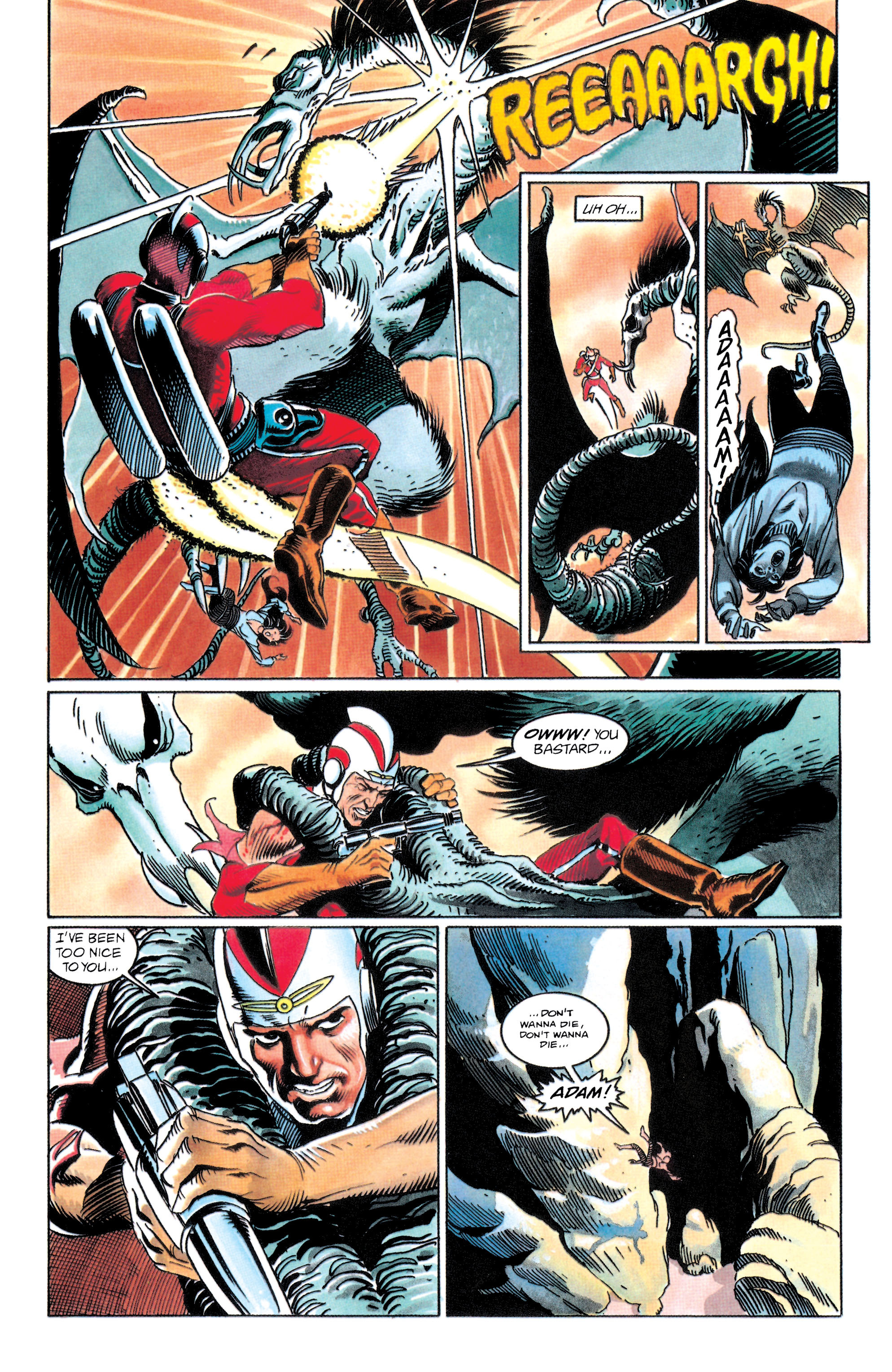 Read online Adam Strange (1990) comic -  Issue #1 - 6