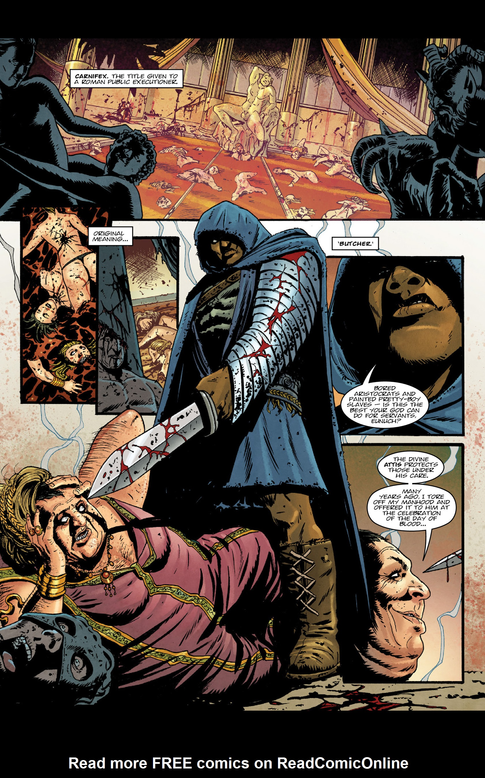 Read online Aquila comic -  Issue #3 - 30