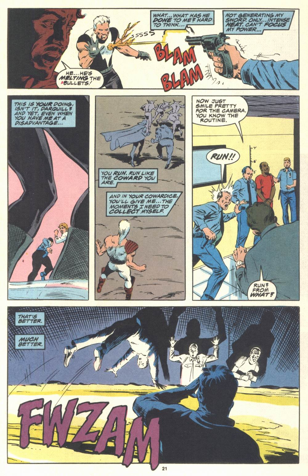 Read online Justice (1986) comic -  Issue #21 - 23