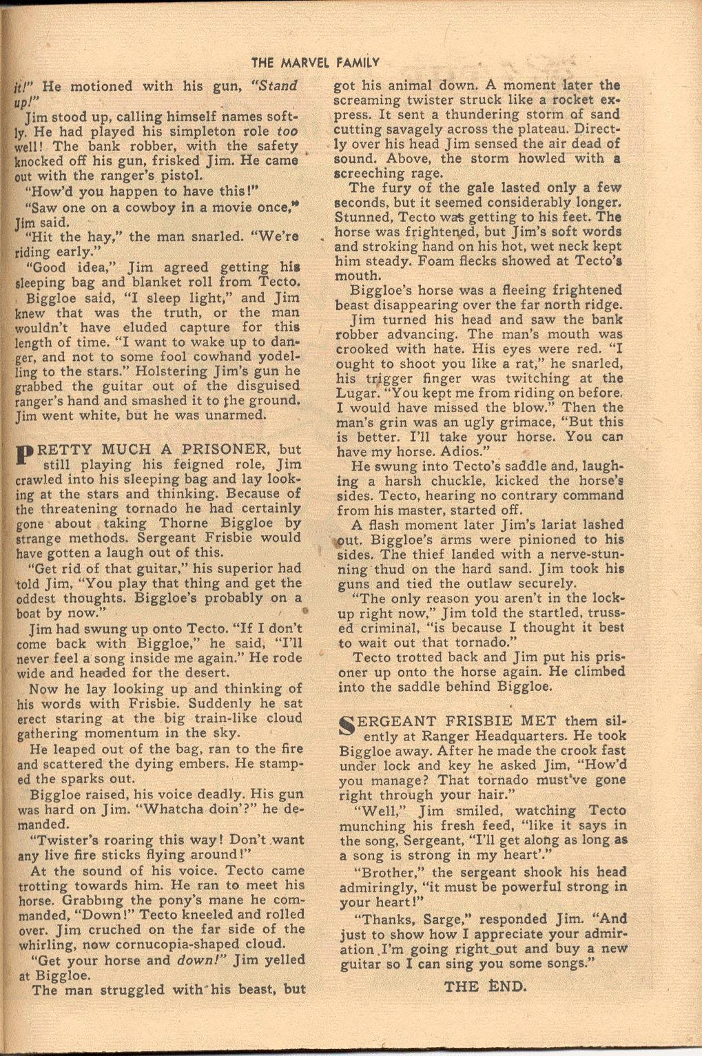 The Marvel Family issue 38 - Page 35