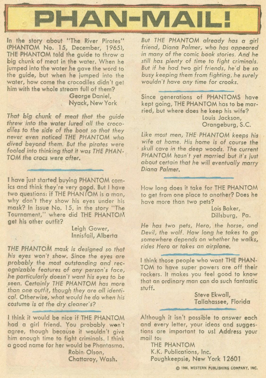 The Phantom (1962) issue 17 - Page 20