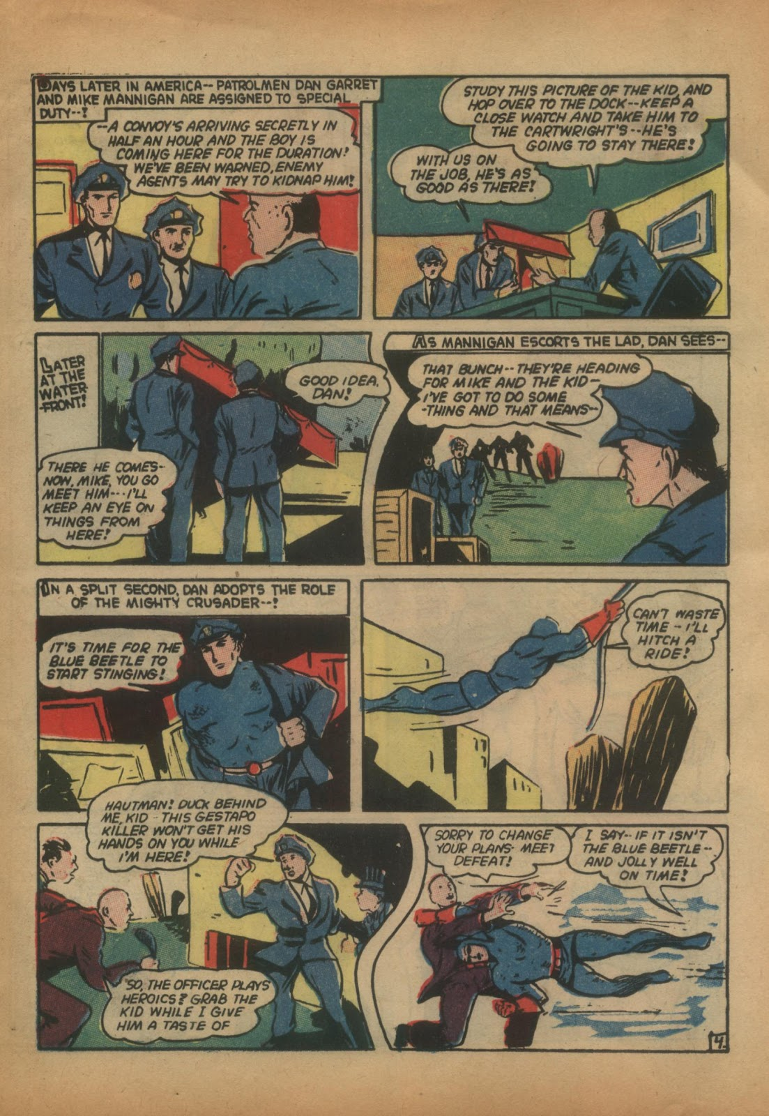 The Blue Beetle issue 15 - Page 23