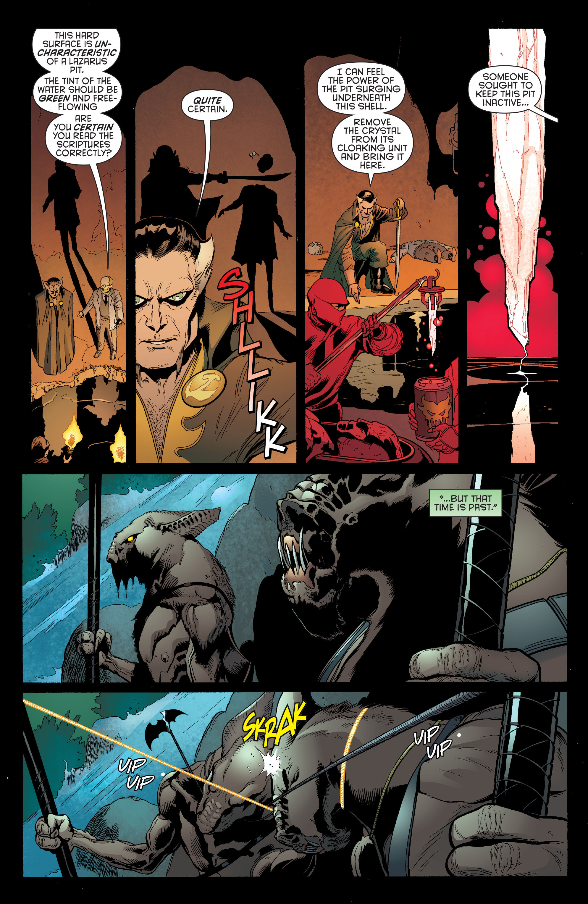 Read online Batman and Robin (2011) comic -  Issue #30 - Batman and Wonder Woman - 10