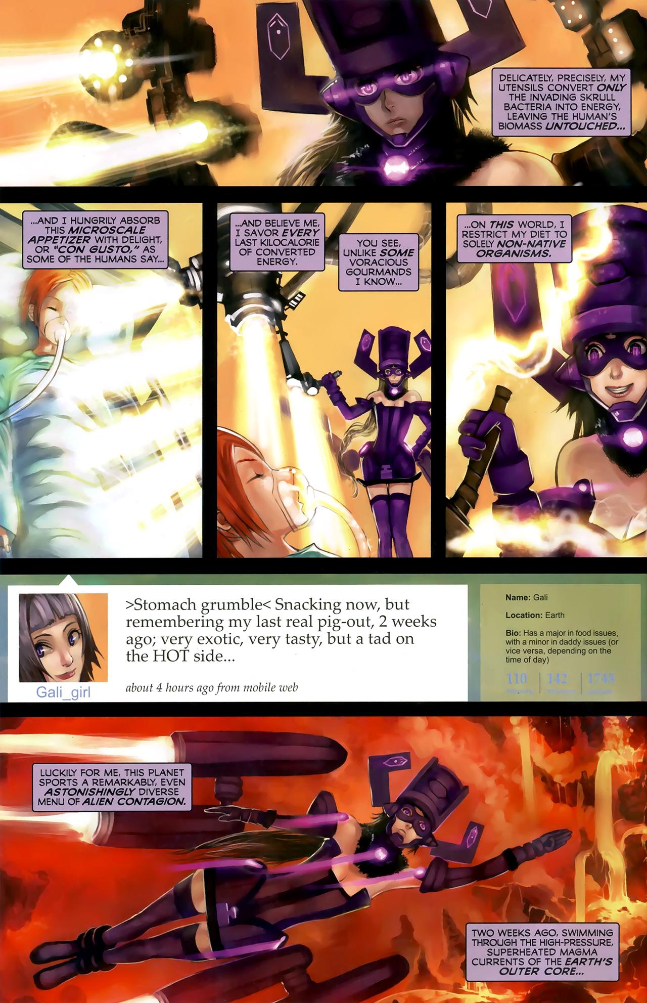 Read online Galacta: Daughter of Galactus comic -  Issue # Full - 6