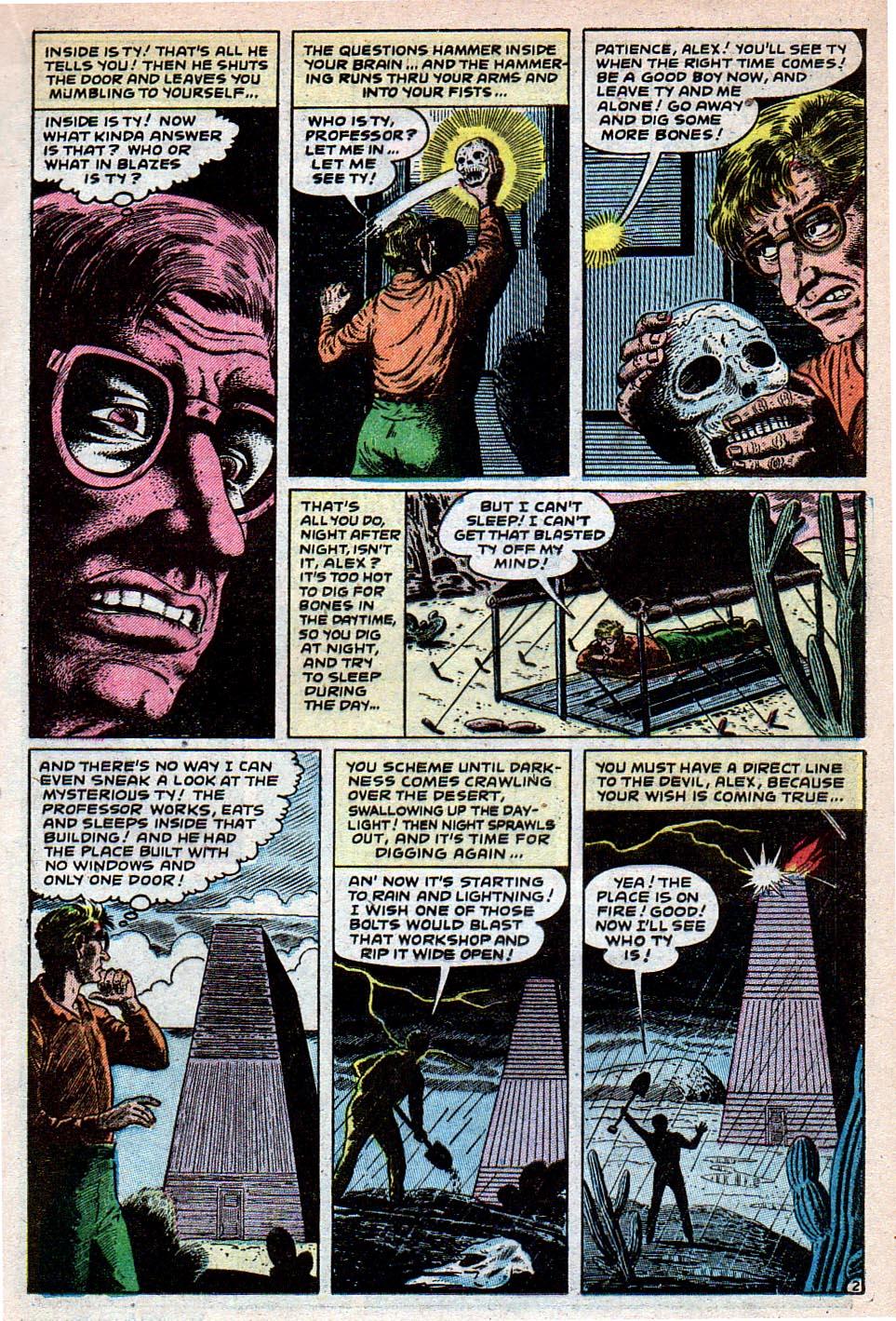 Read online Adventures into Weird Worlds comic -  Issue #30 - 13