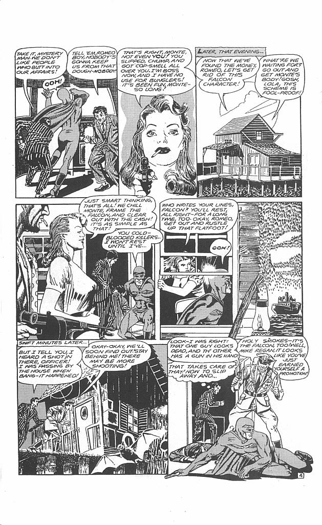 Read online Golden-Age Men of Mystery comic -  Issue #4 - 34