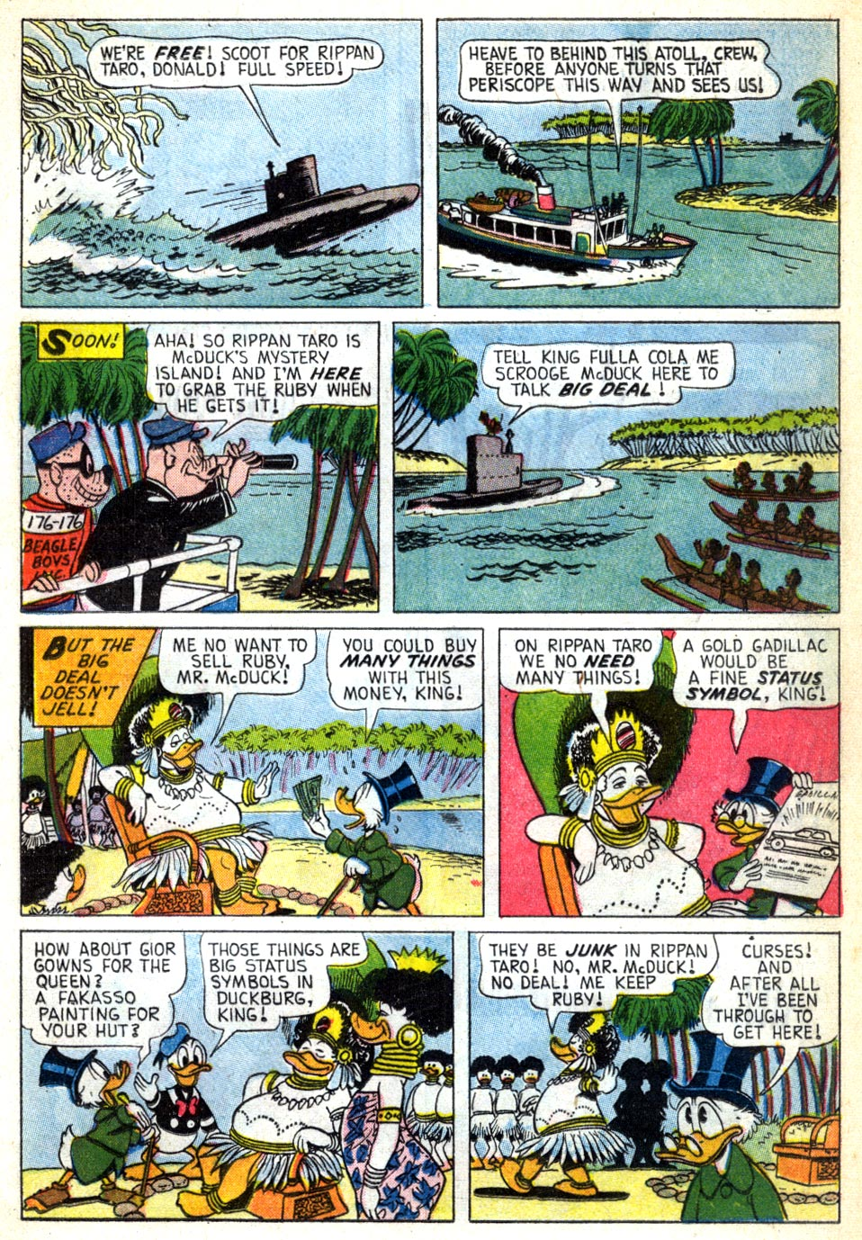 Read online Uncle Scrooge (1953) comic -  Issue #41 - 17