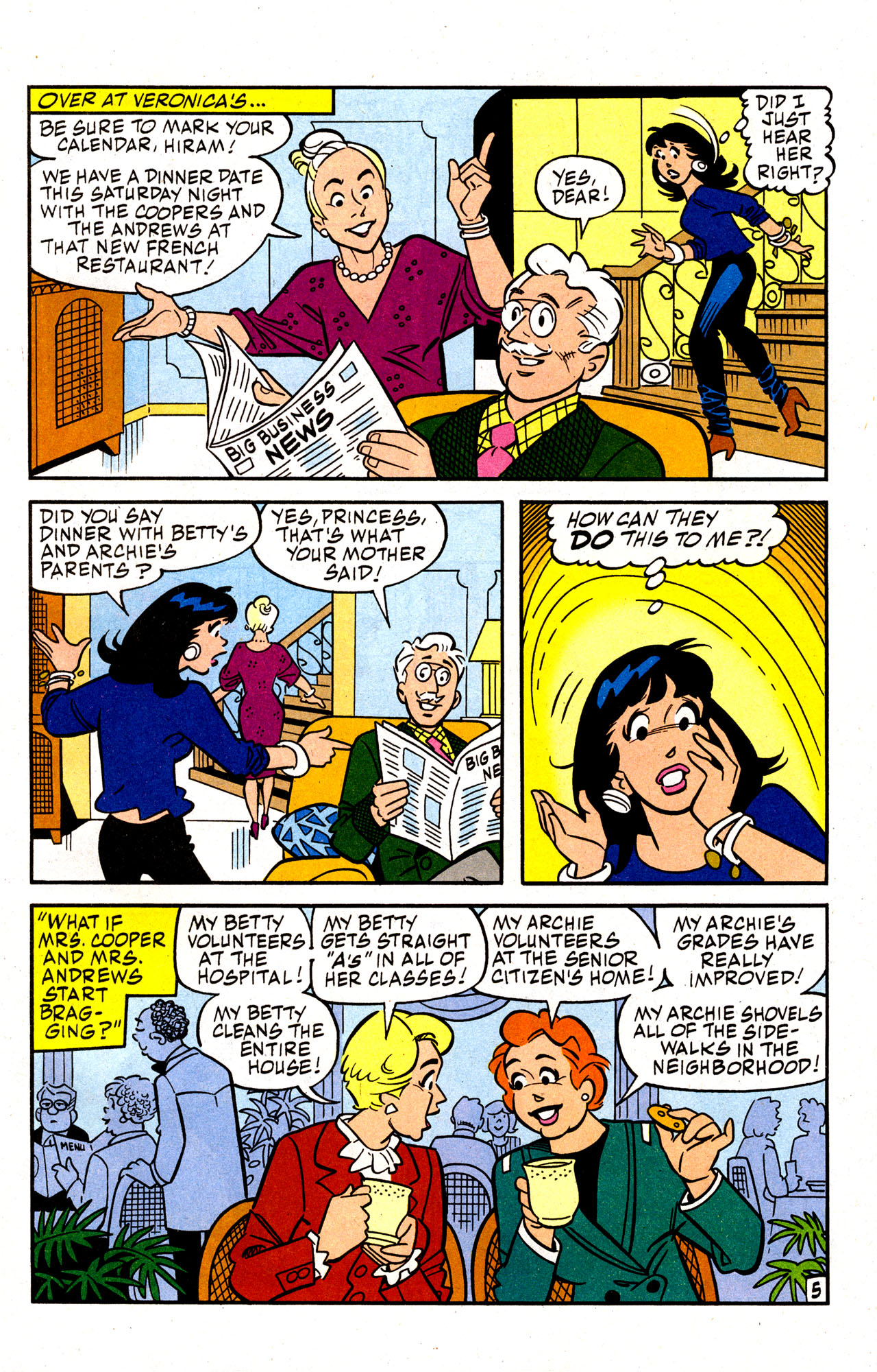Read online Archie (1960) comic -  Issue #574 - 7
