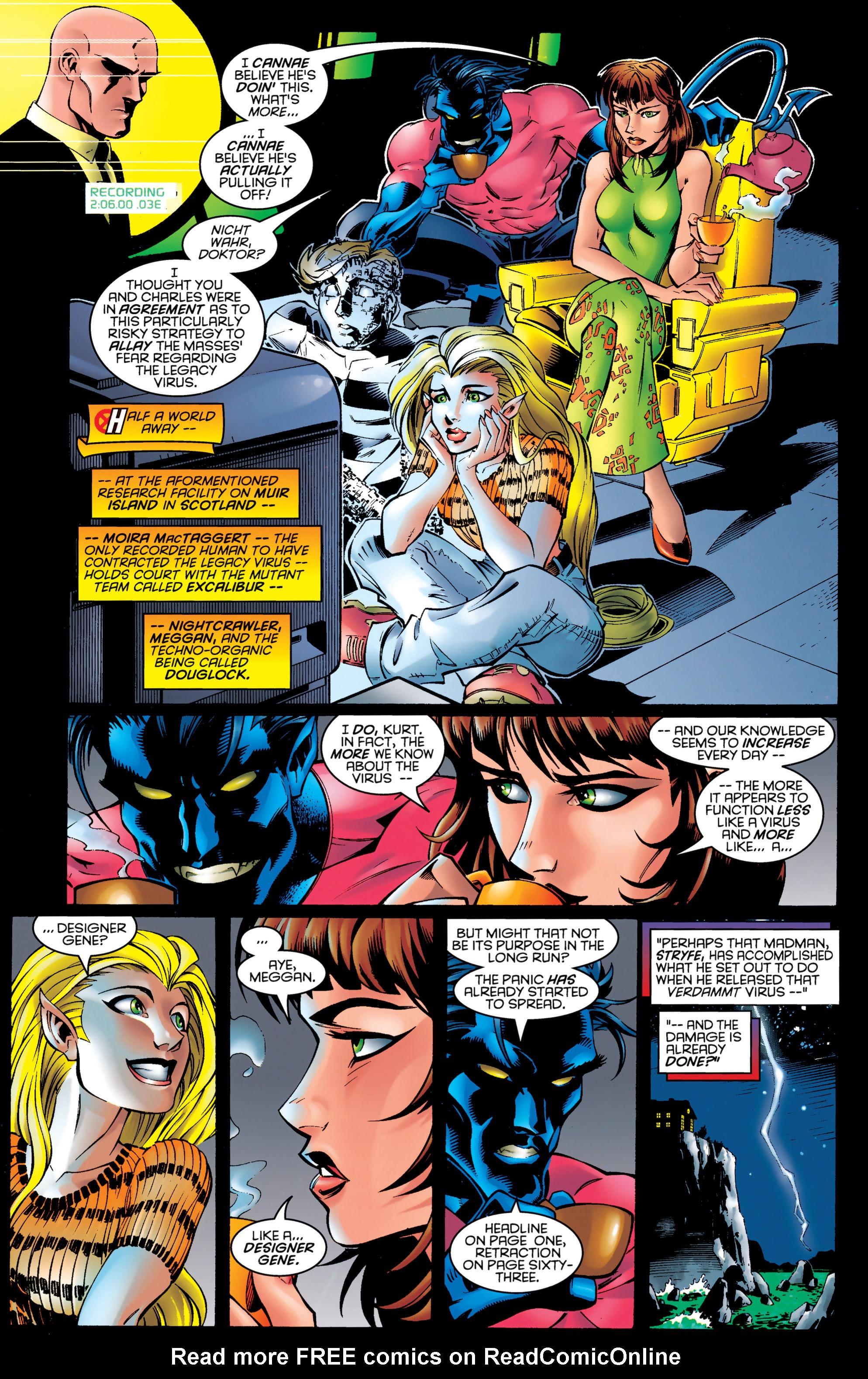 Read online Uncanny X-Men (1963) comic -  Issue #326 - 8