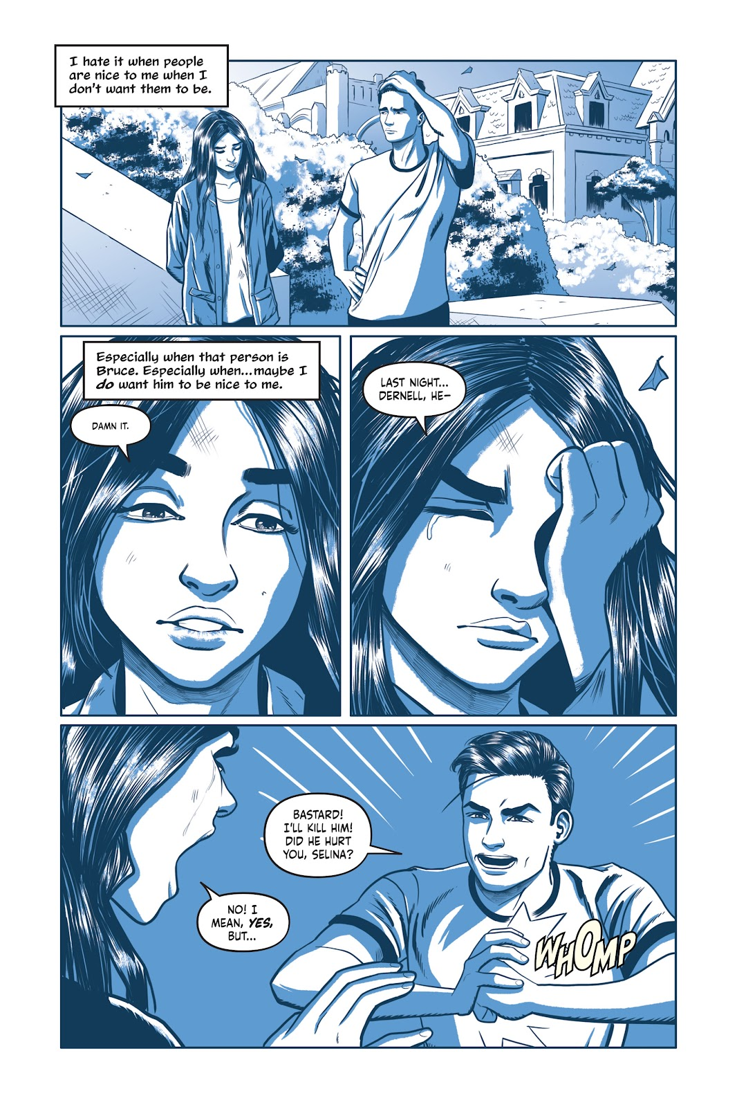 Read online Under the Moon: A Catwoman Tale comic -  Issue # TPB (Part 1) - 77
