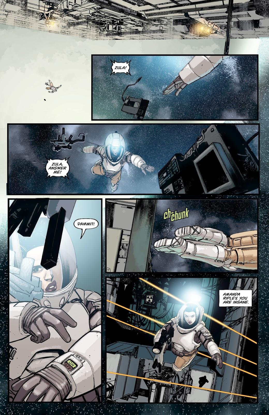 Read online Aliens: Resistance comic -  Issue #2 - 20
