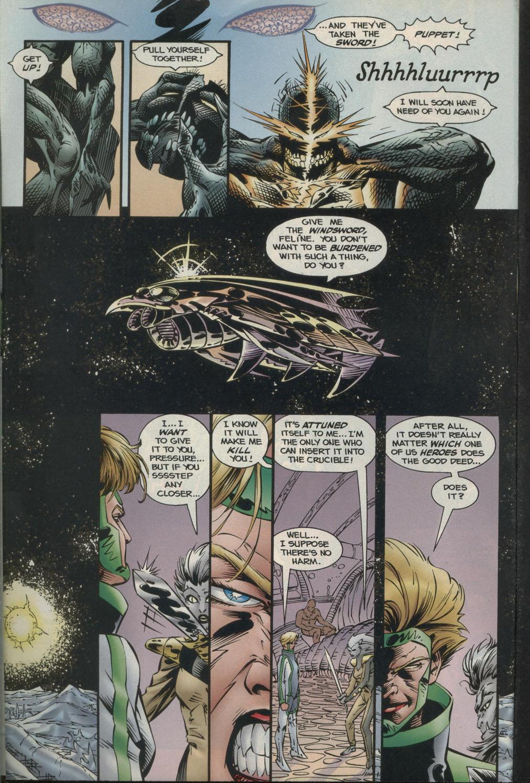 Read online Godwheel comic -  Issue #2 - 19