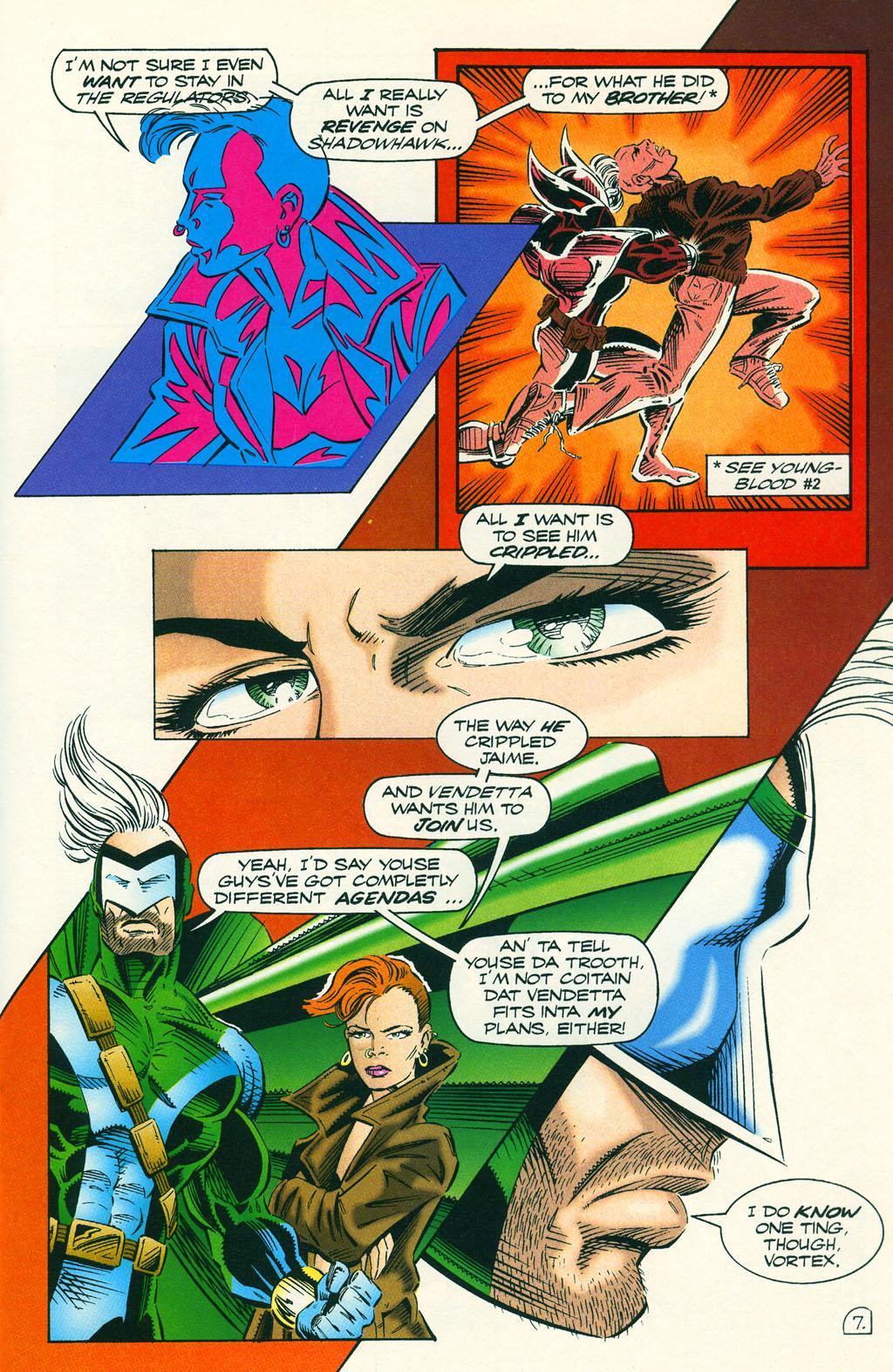 Read online ShadowHawk comic -  Issue #6 - 11
