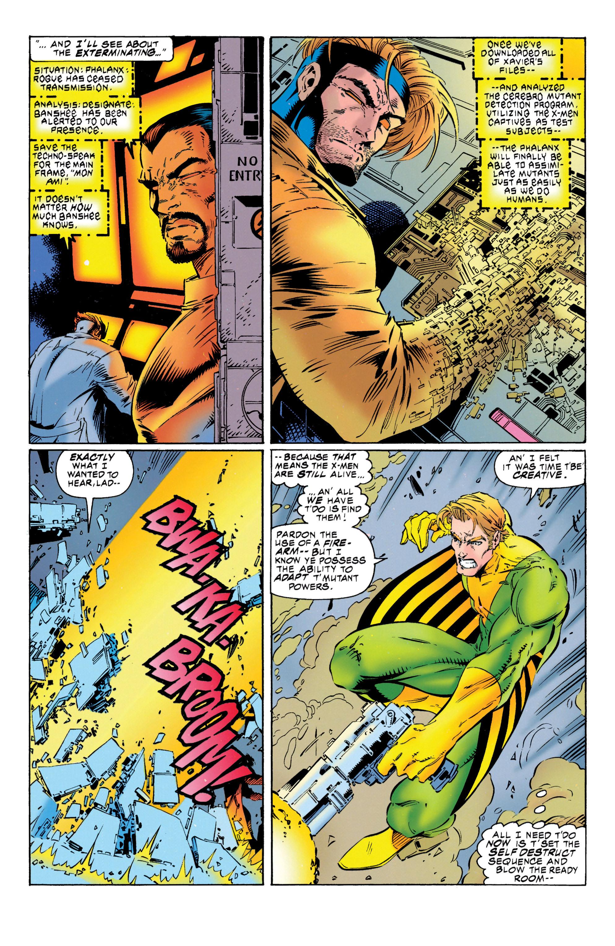 Read online Uncanny X-Men (1963) comic -  Issue #316 - 21