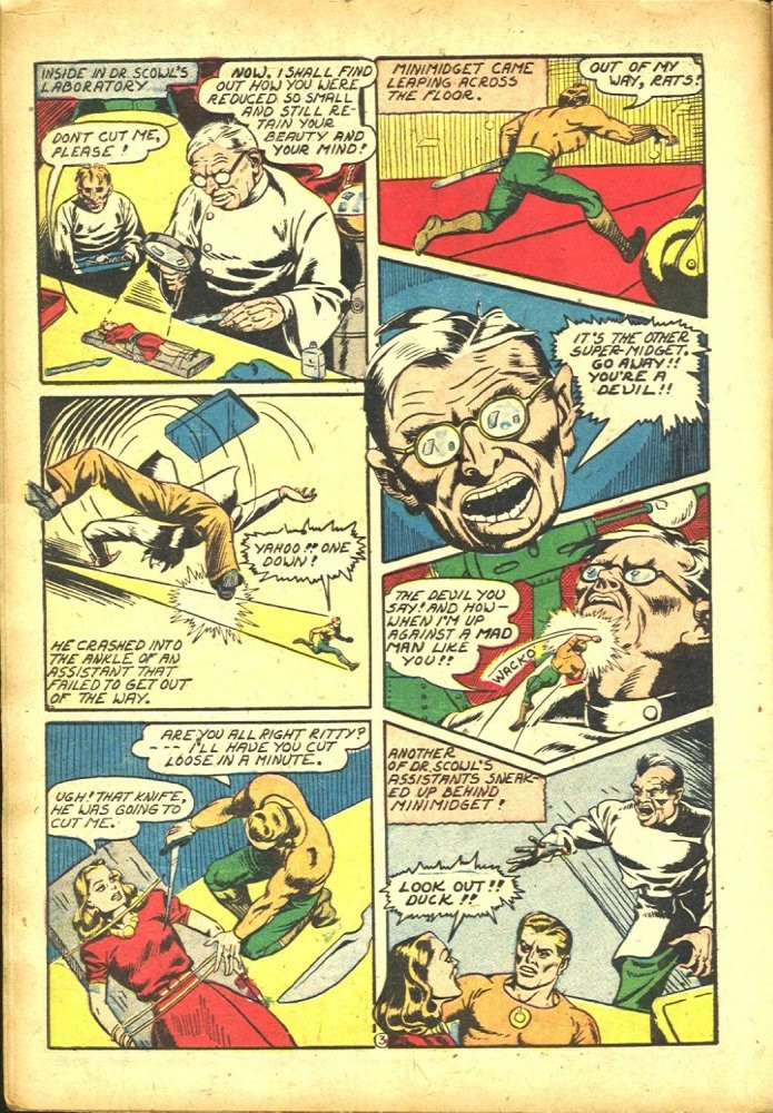 Read online Amazing Man Comics comic -  Issue #25 - 18