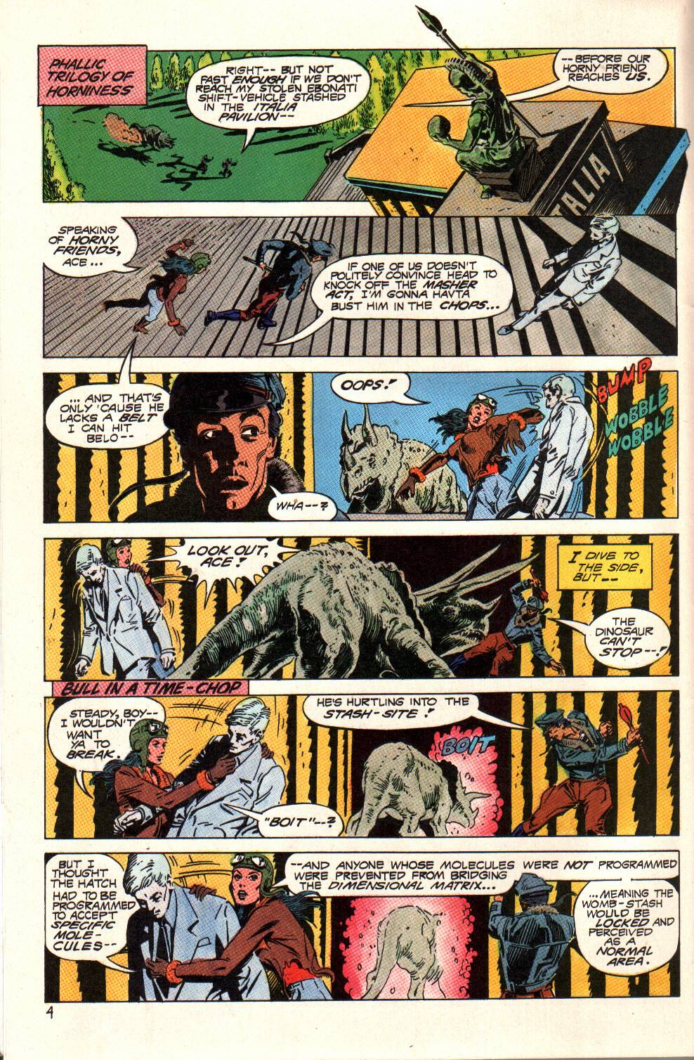 Read online Aztec Ace comic -  Issue #6 - 6