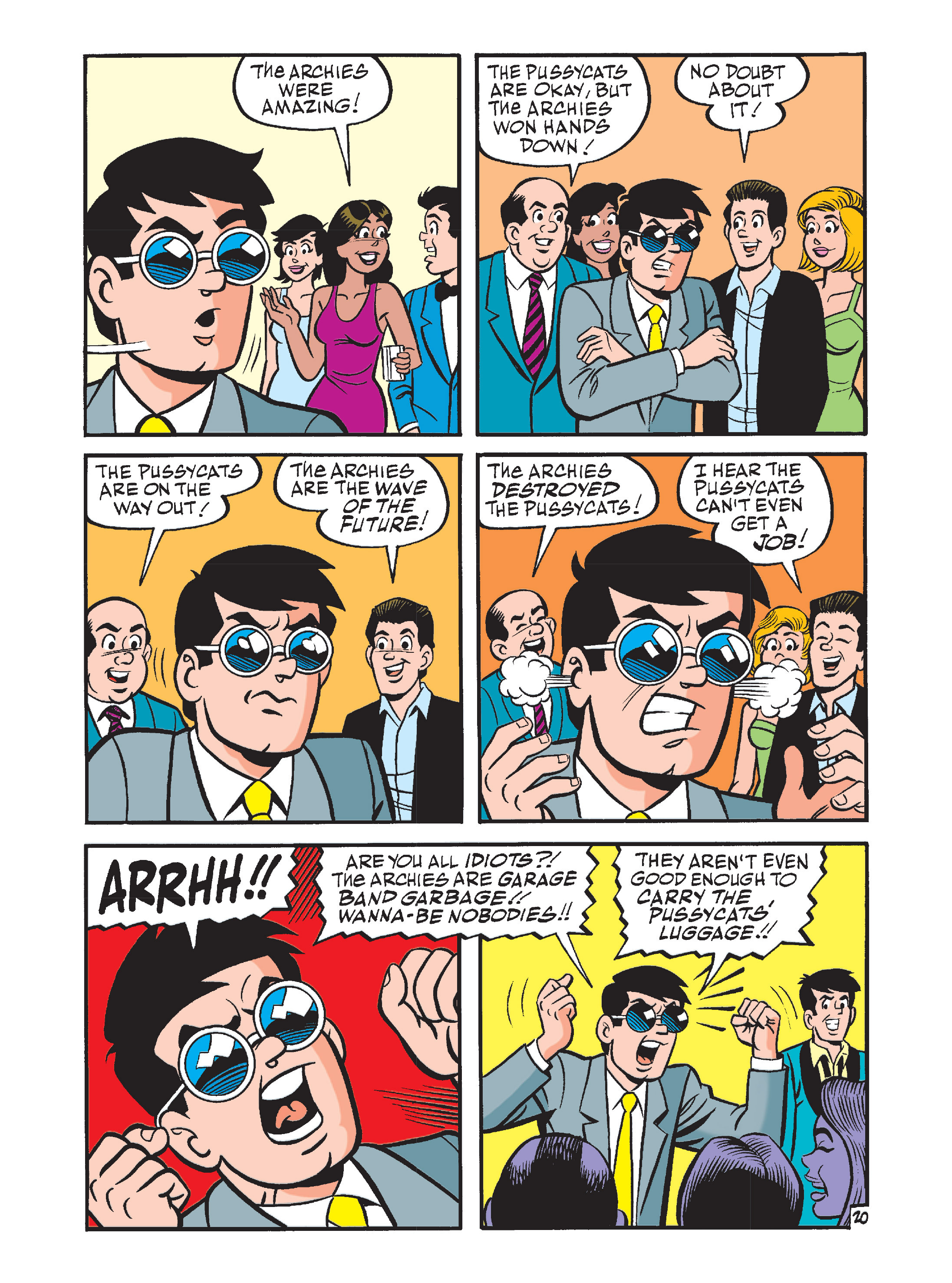 Read online Archie's Funhouse Double Digest comic -  Issue #12 - 55