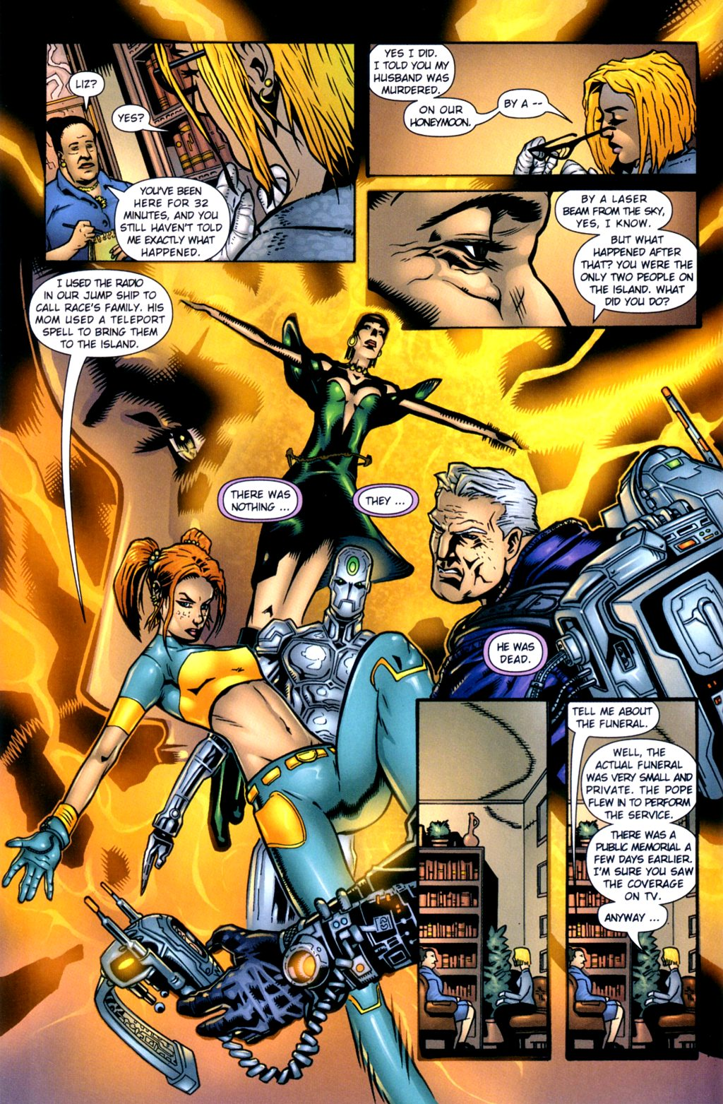 Read online Noble Causes (2002) comic -  Issue #2 - 7