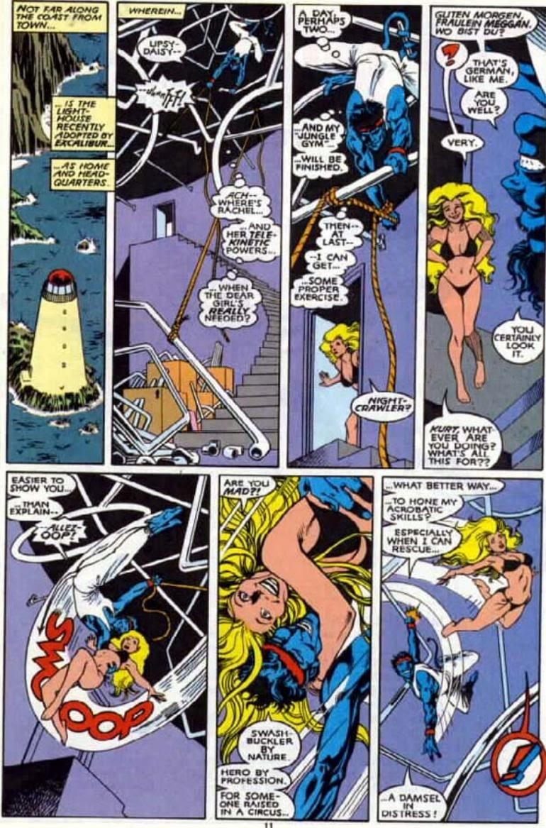 Excalibur (1988) issue 4 - Page 9