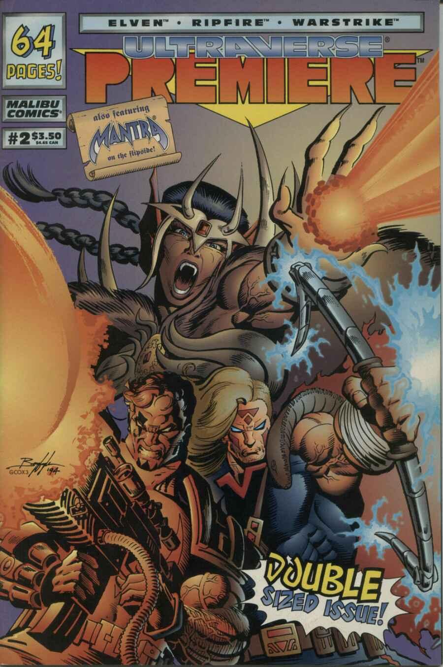 Read online Ultraverse Premiere comic -  Issue #2 - 1