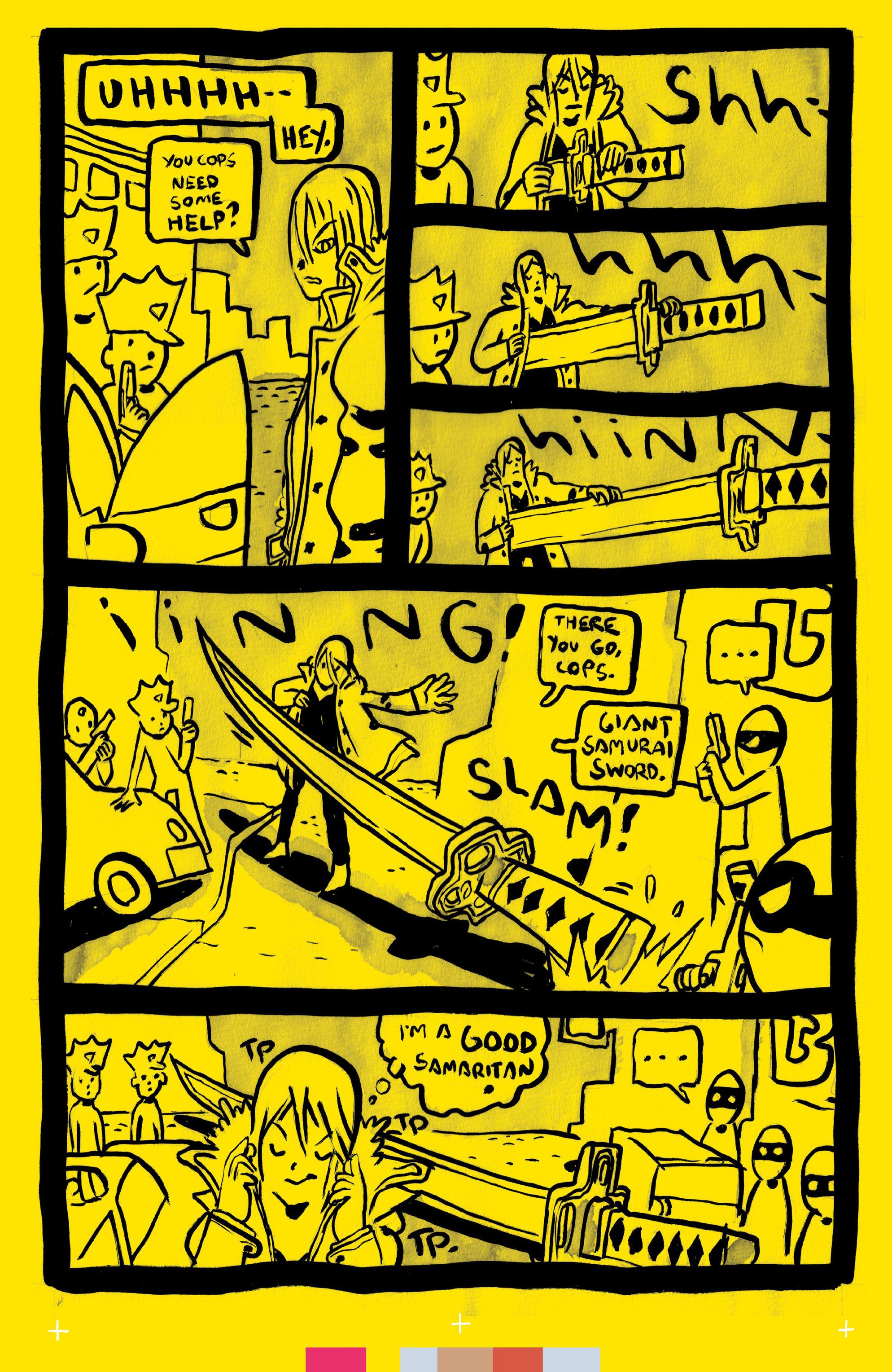 Read online Sun Bakery comic -  Issue #3 - 8