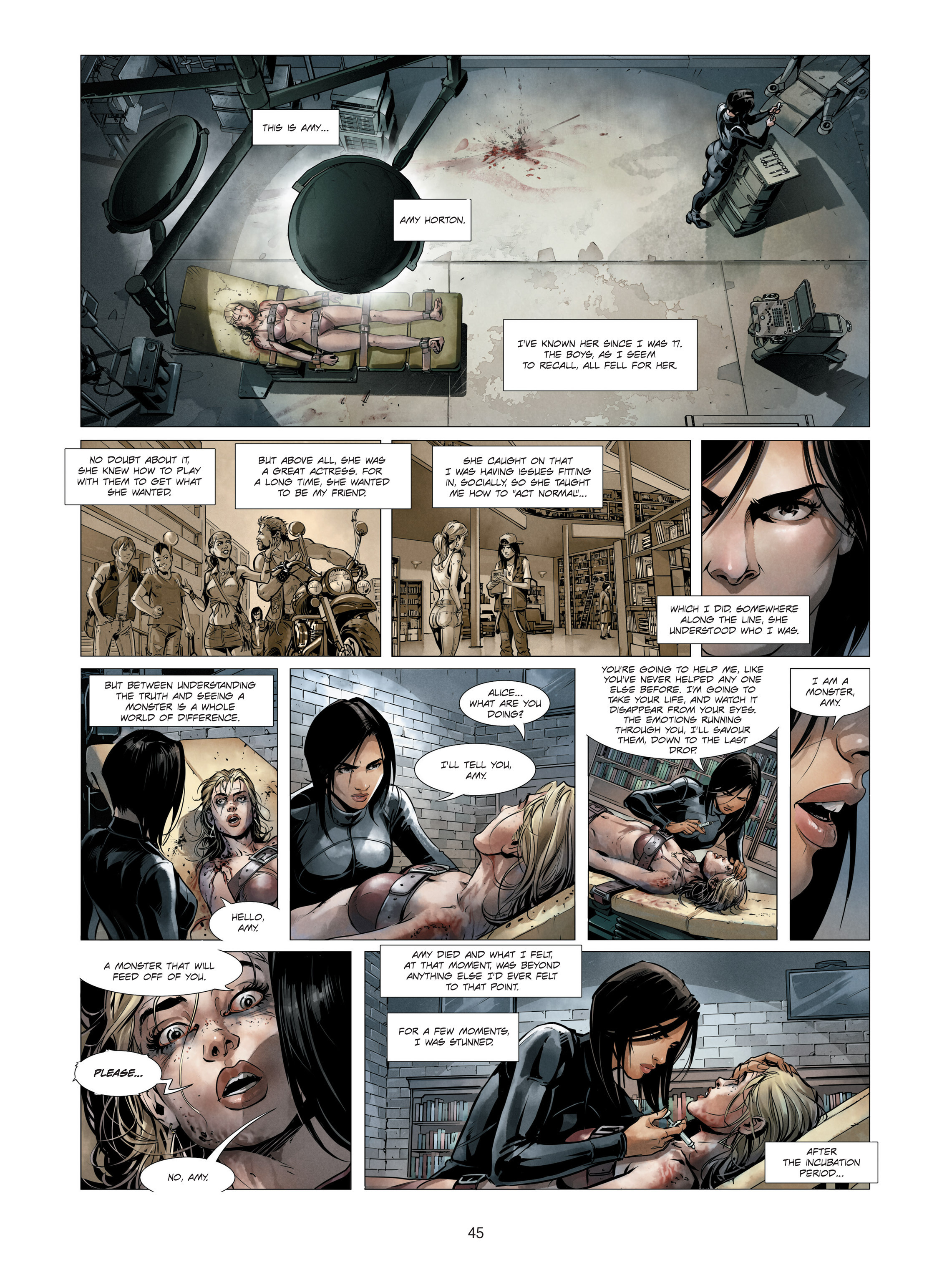 Read online Alice Matheson comic -  Issue #3 - 45