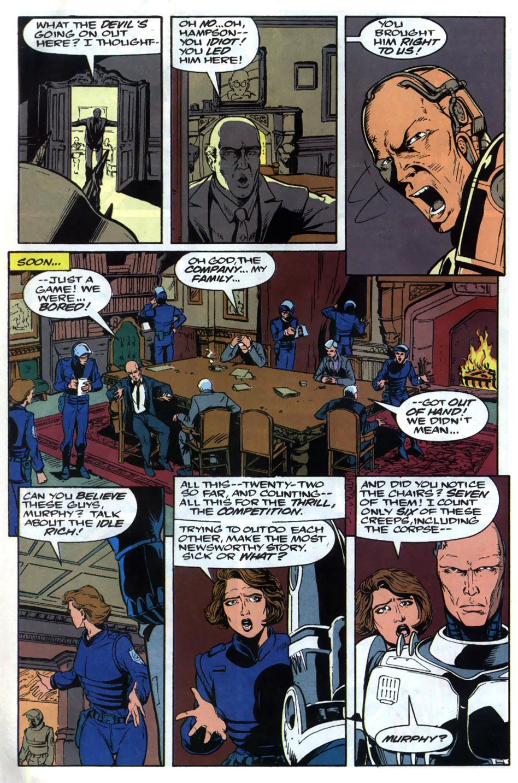 Read online Robocop (1990) comic -  Issue #20 - 23