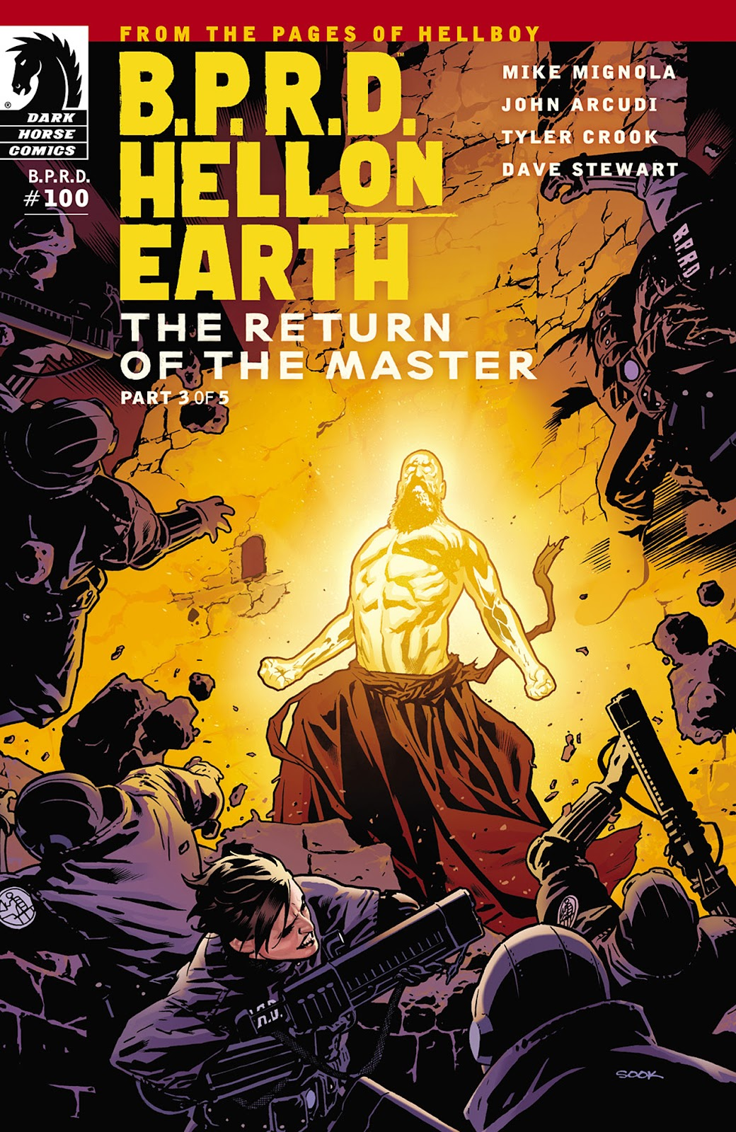 Read online B.P.R.D. Hell on Earth: The Return of the Master comic -  Issue #3 - 1