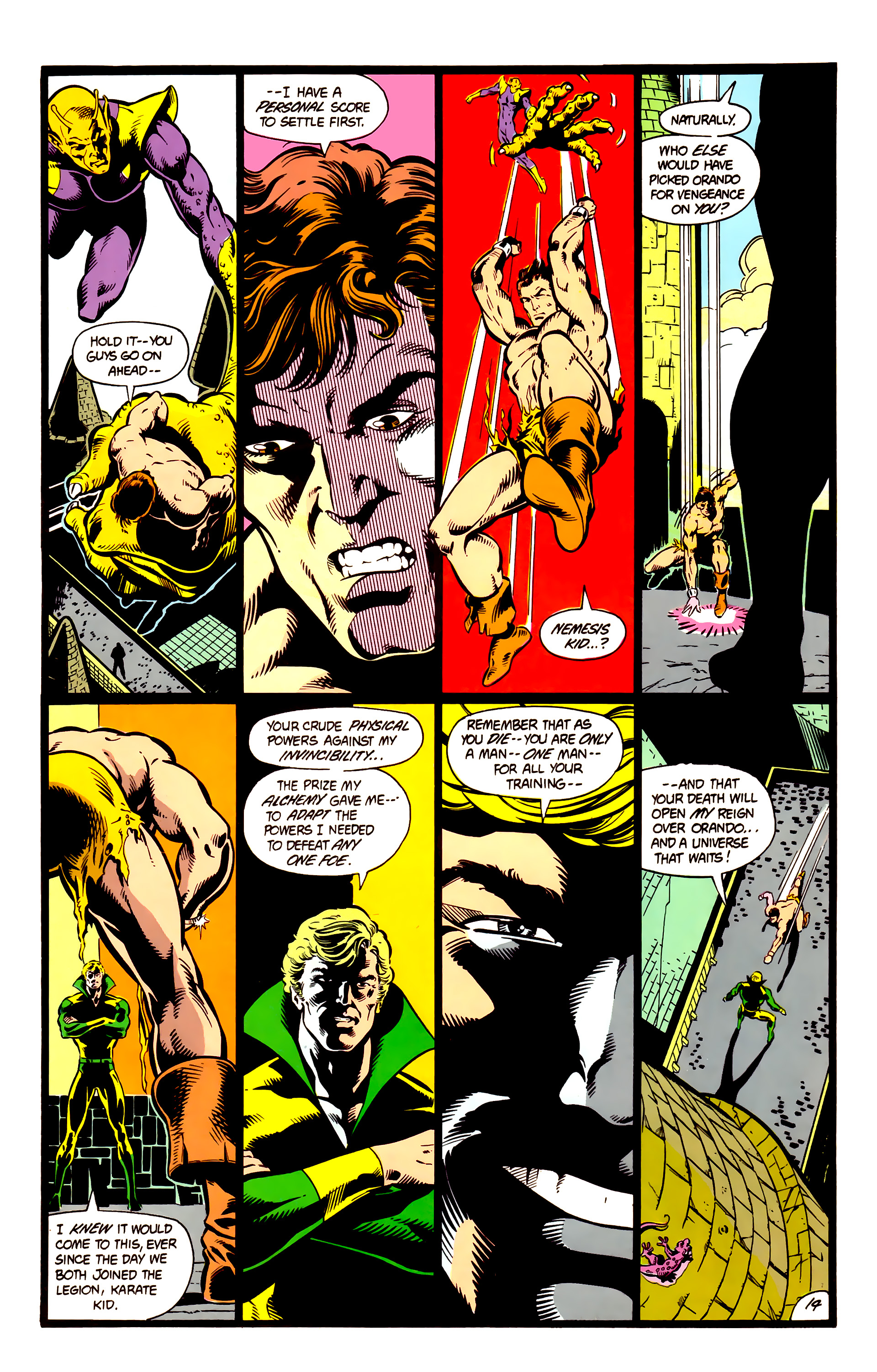 Legion of Super-Heroes (1984) 4 Page 15
