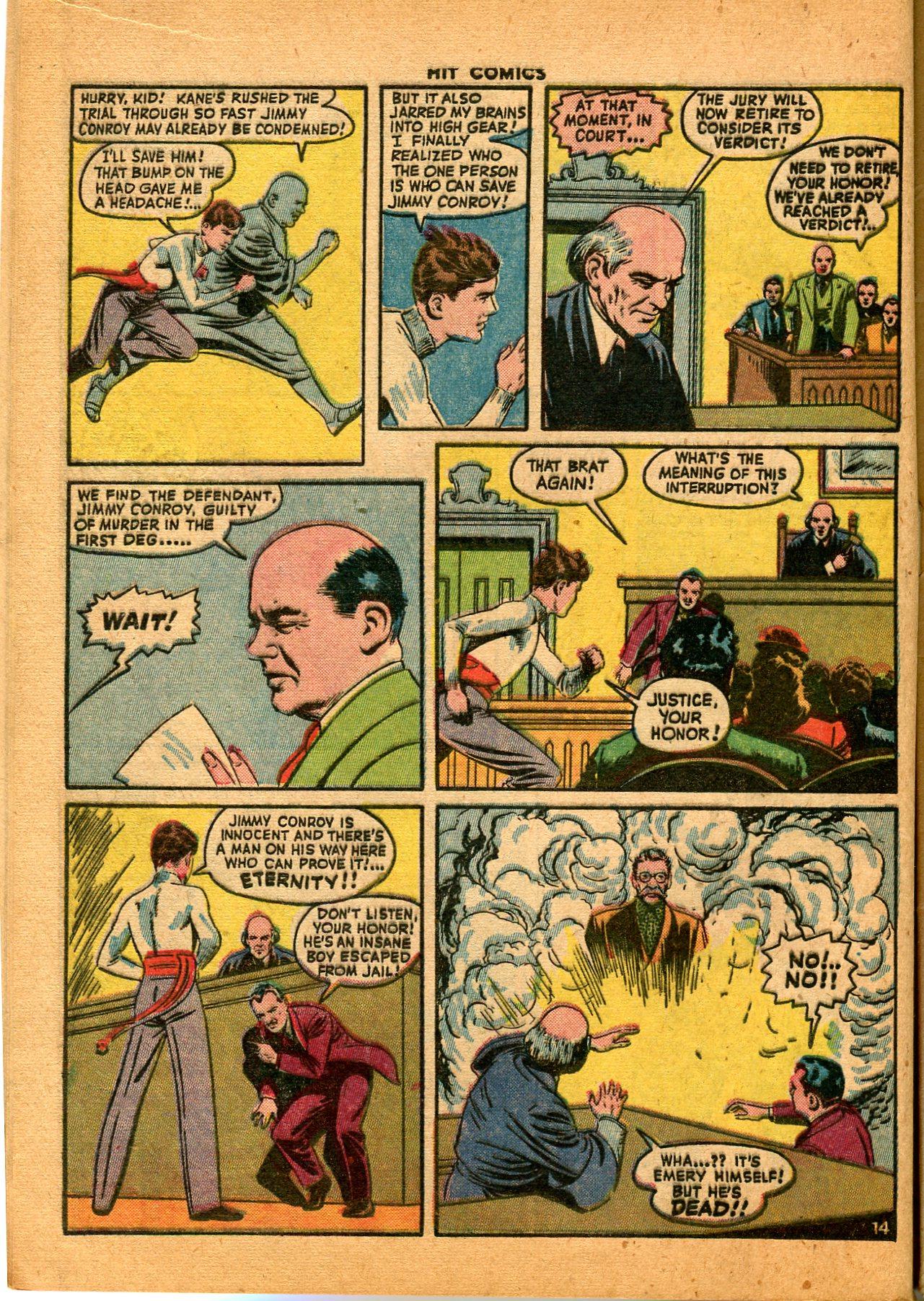 Read online Hit Comics comic -  Issue #35 - 16
