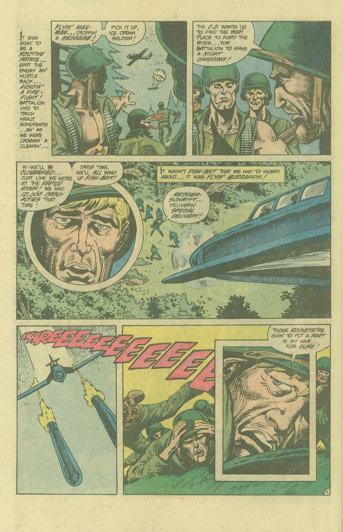 Read online Sgt. Rock comic -  Issue #394 - 7