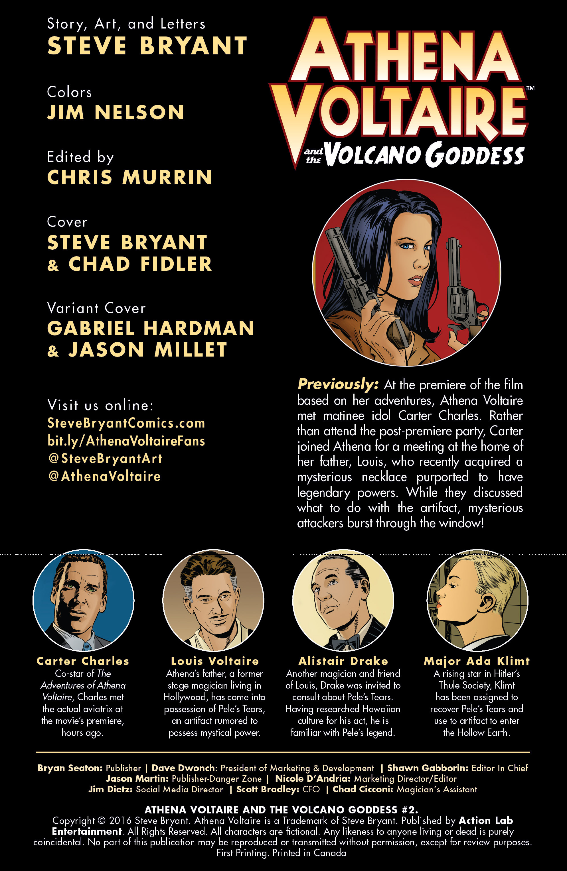 Read online Athena Voltaire and the Volcano Goddess comic -  Issue #2 - 2